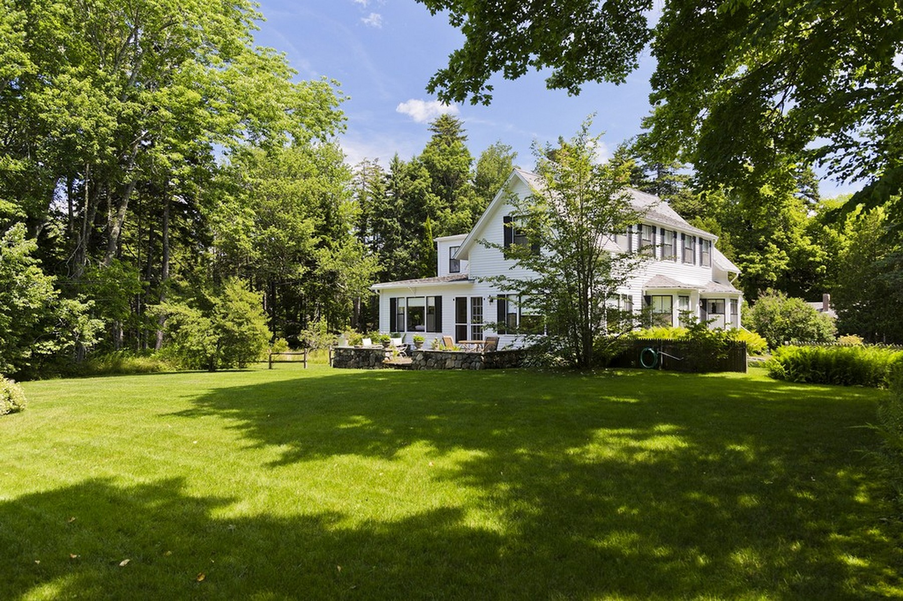 Single Family Home for Sale at Borderlea 67 Manchester Rd Northeast Harbor, Maine, 04662 United States