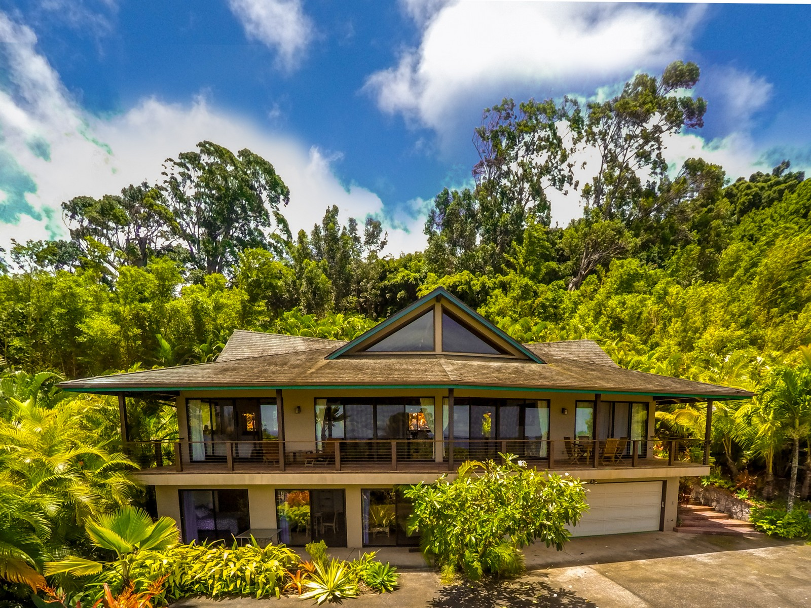 sales property at Two Homes on 2-Acres in Haiku Hill