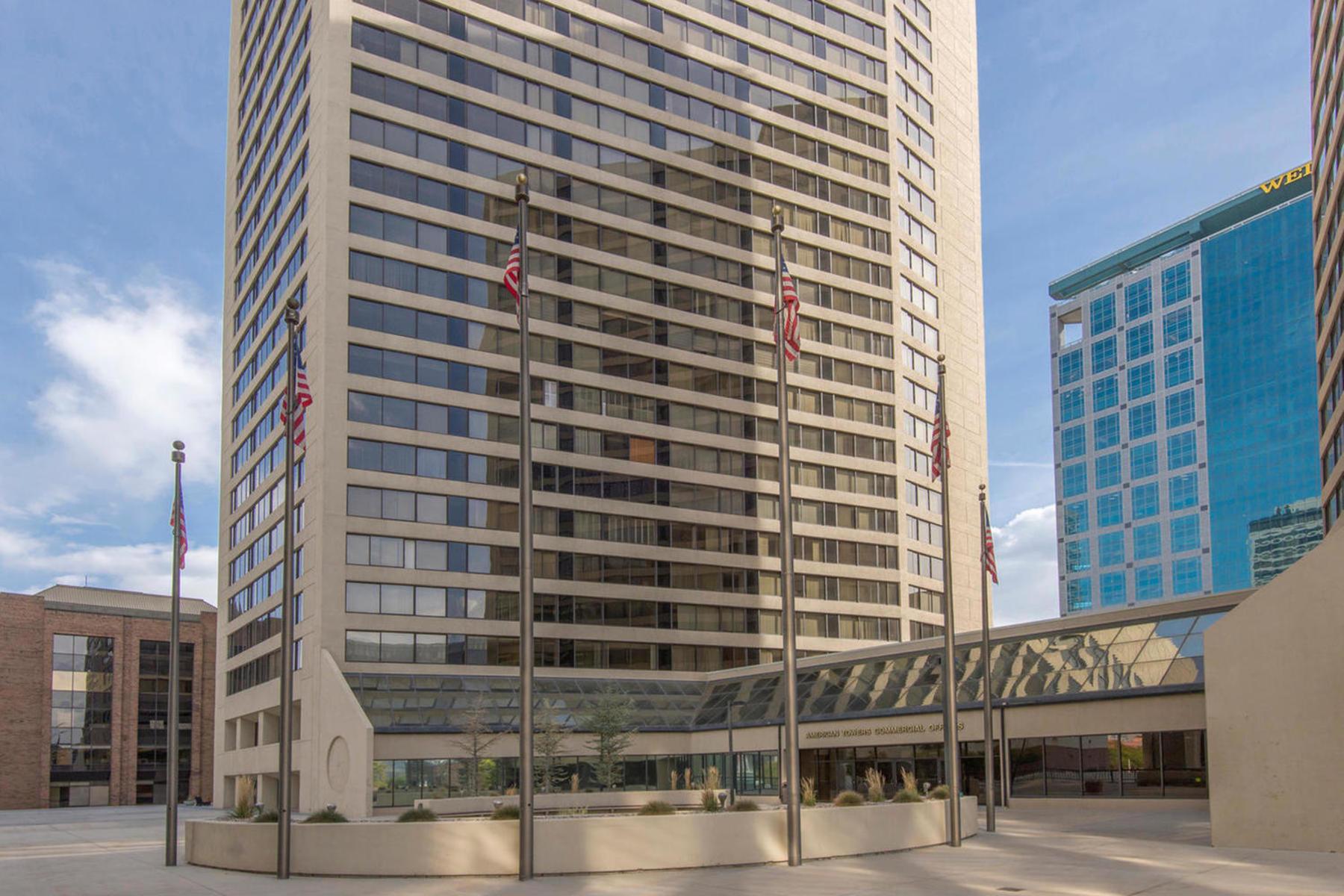 共管式独立产权公寓 为 销售 在 American Towers Gem 44 West 300 South #705S 盐湖城市, 犹他州, 84101 美国