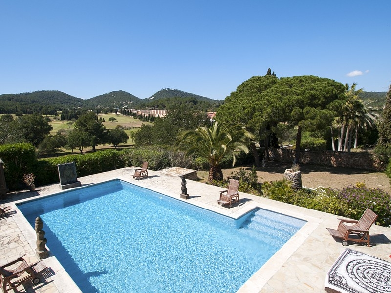 Single Family Home for Sale at West Orientated Golf Front Villa In Ibiza Ibiza, Ibiza, 07840 Spain