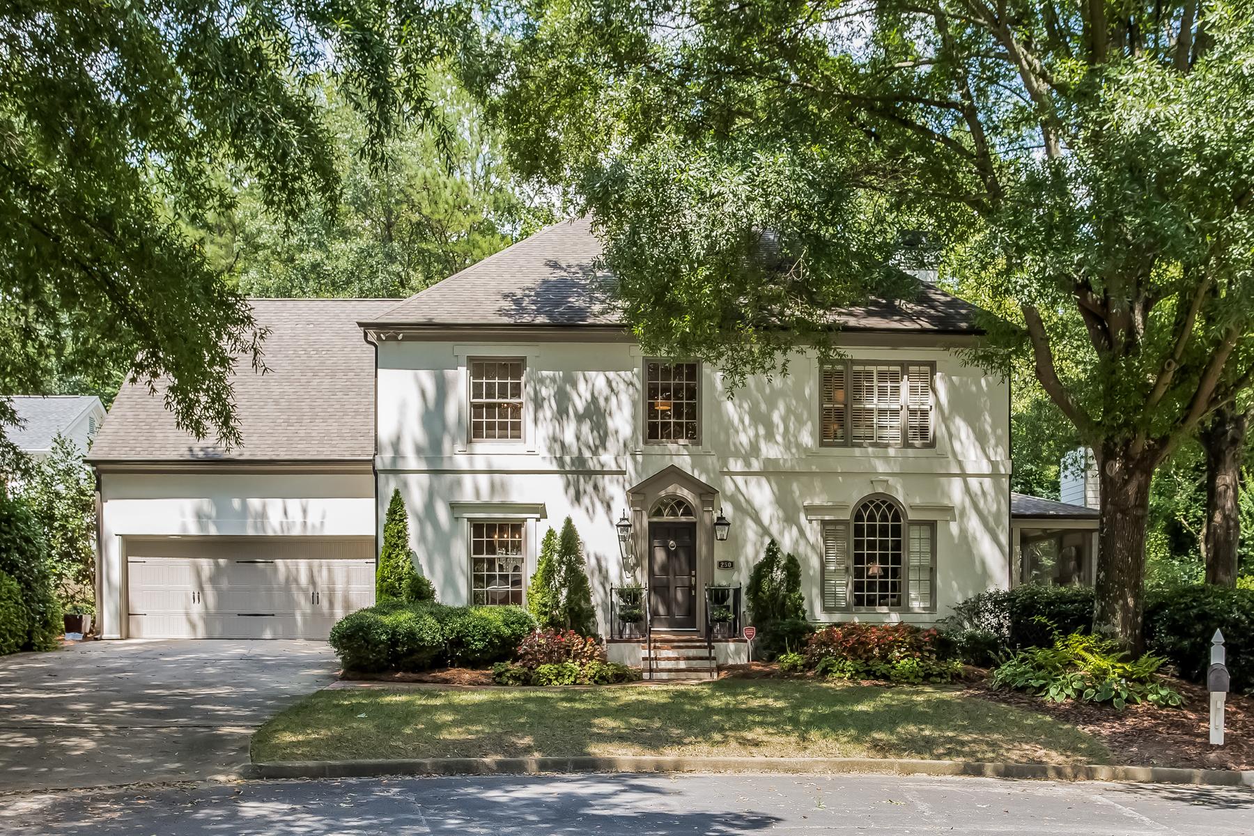 Vivienda unifamiliar por un Venta en Exquisite Renovation 250 Woodchase Close NE Atlanta, Georgia, 30319 Estados Unidos