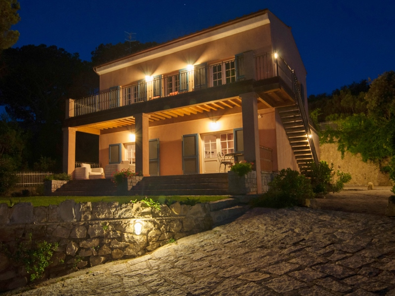 Property For Sale at Typical Elba Villa in a park