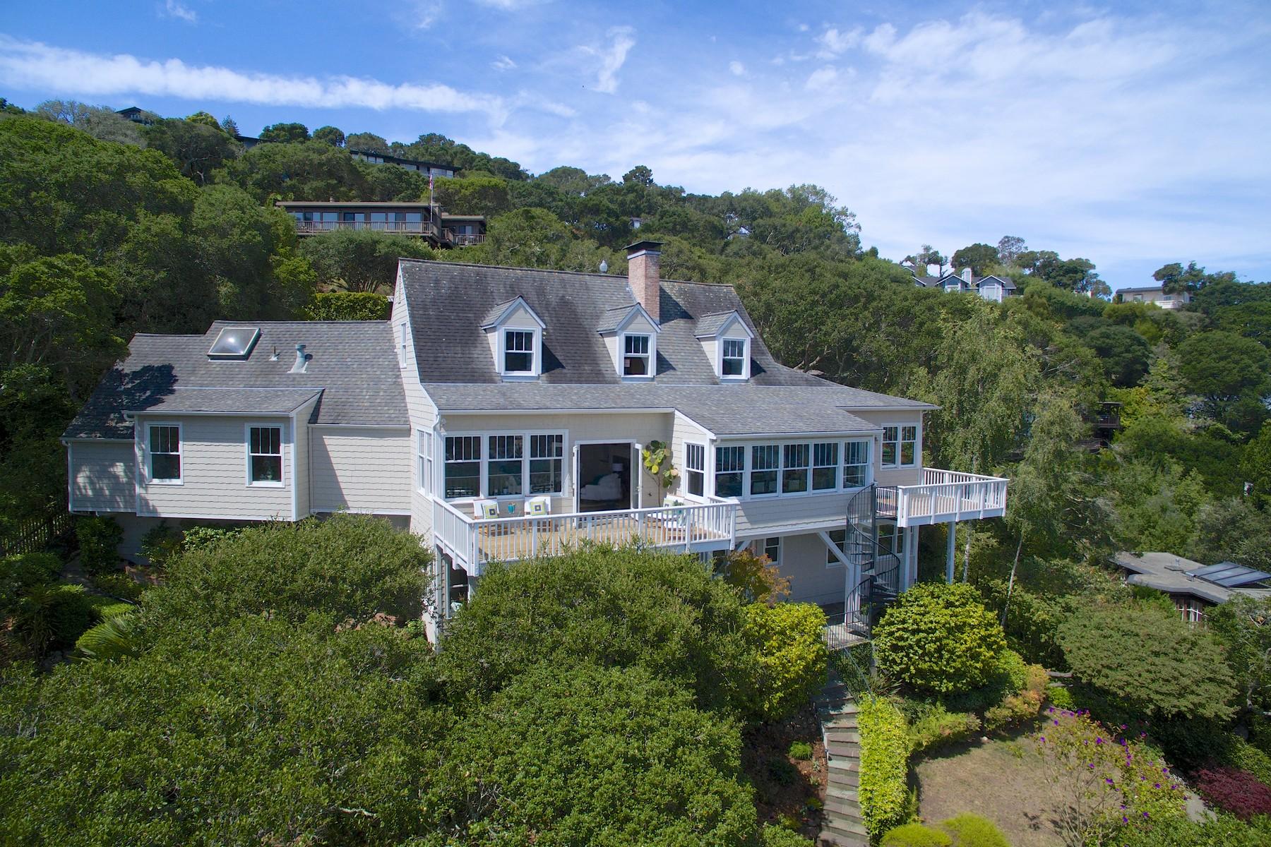 Casa para uma família para Venda às 124 Madrona 124 Madrona Avenue Belvedere, Califórnia 94920 Estados Unidos