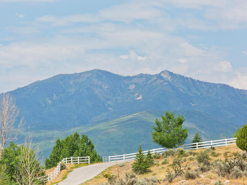 Property For Sale at Beautiful 5 Acre Lot High Above Heber City
