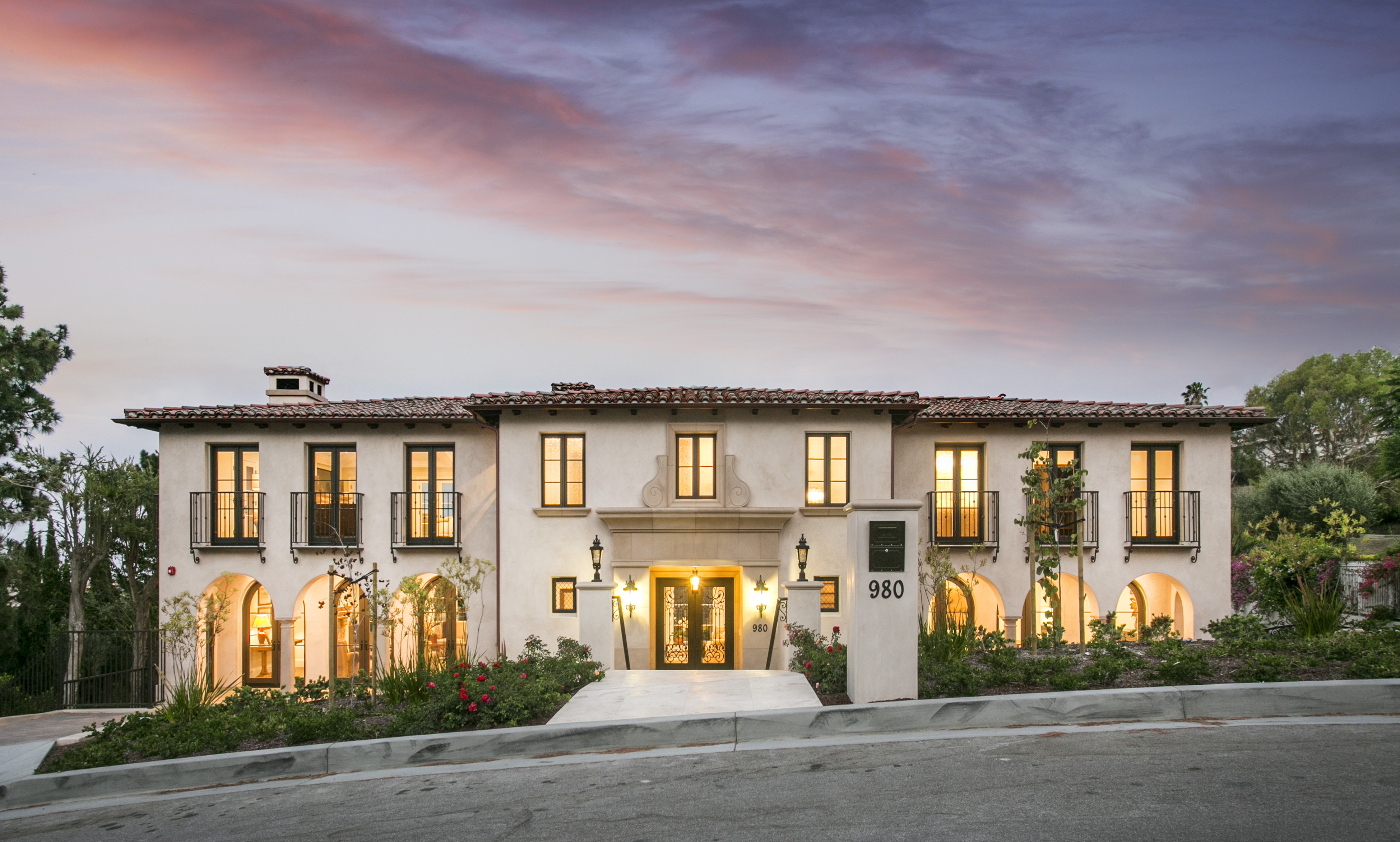 Single Family Home for Sale at New Construction 980 Via Rincon Palos Verdes Estates, California, 90274 United States