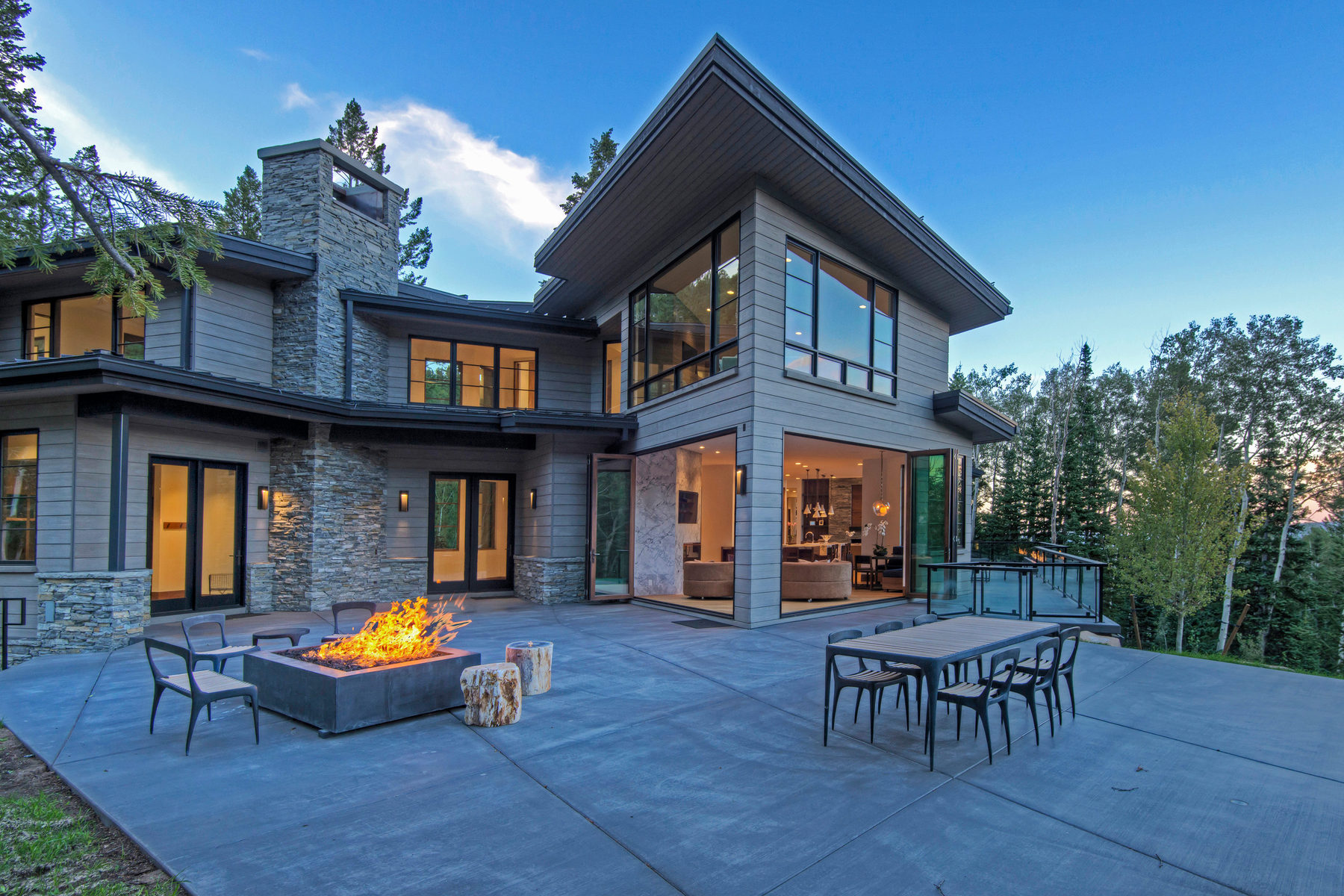 Single Family Home for Sale at Stunning New Construction in the Colony 79 White Pine Canyon Rd Park City, Utah 84060 United States