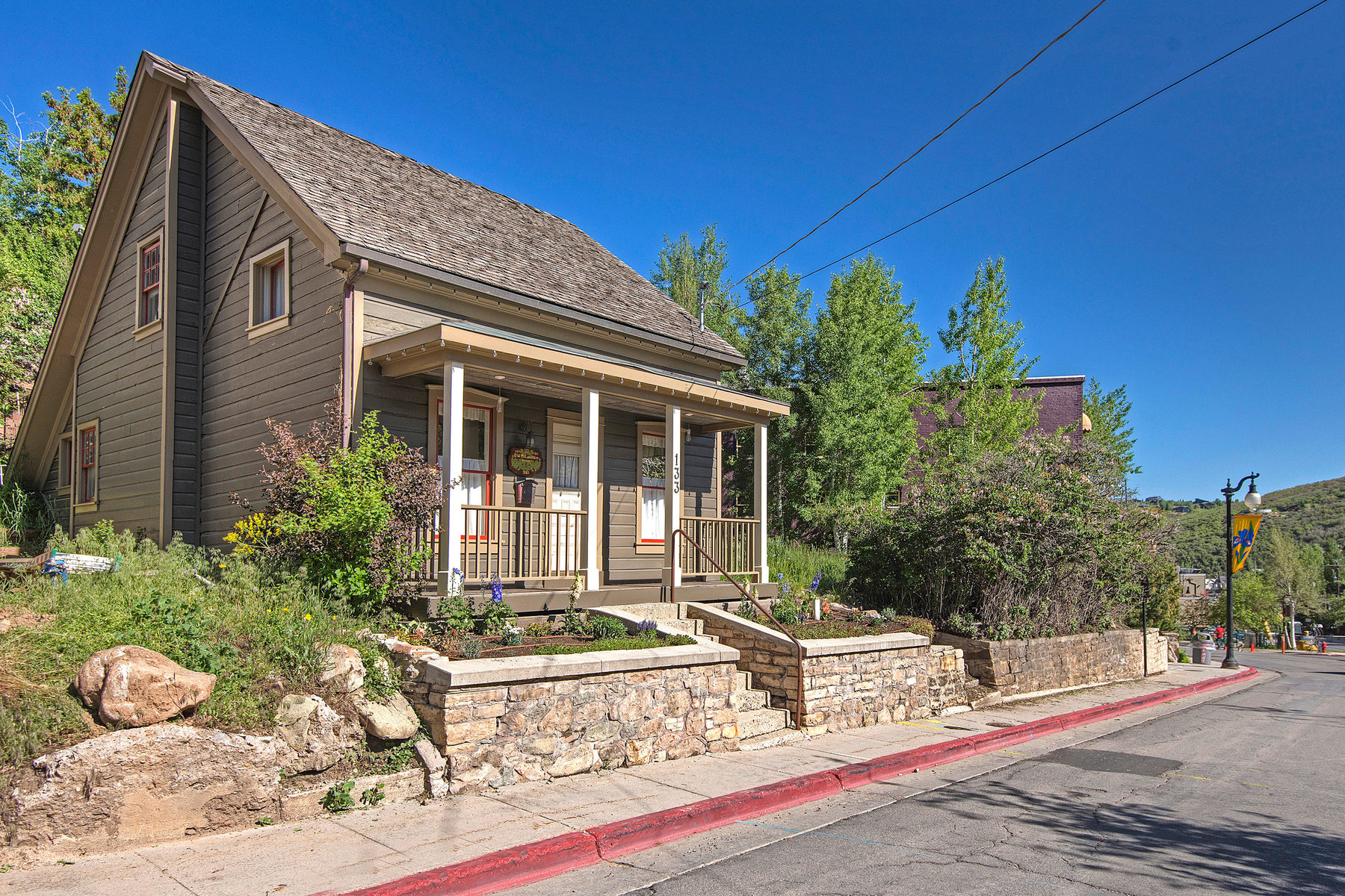 Single Family Home for Sale at Notable Historic Treasure on Main Street 133 Main Street Park City, Utah 84060 United States