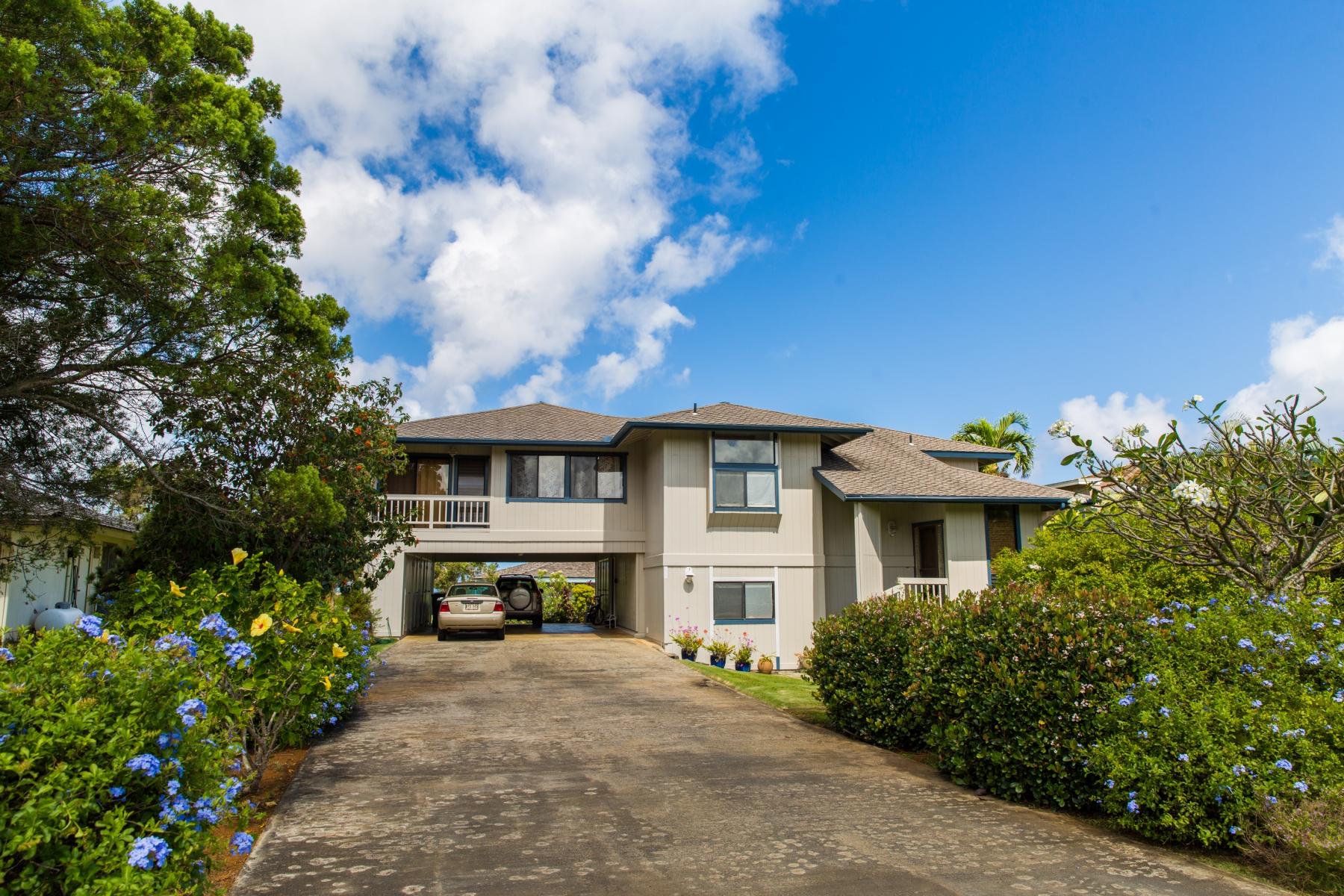 独户住宅 为 销售 在 Princeville 3844 Punahele Rd 普林斯维尔, 夏威夷, 96722 美国
