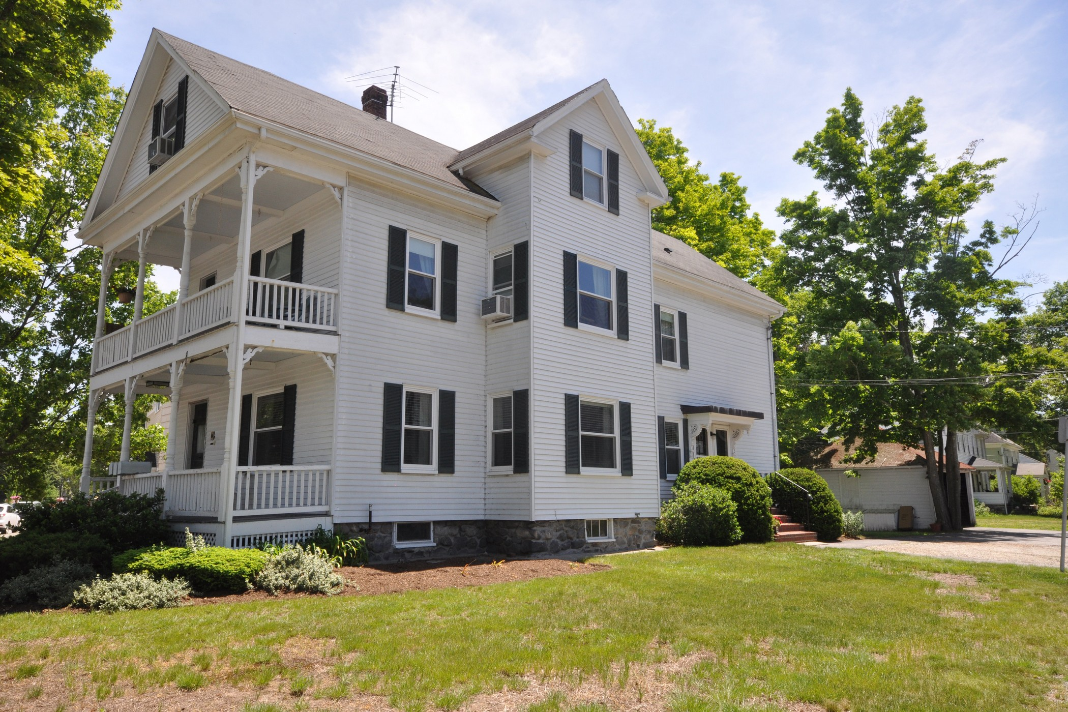 Multi-Family Home for Sale at Three Family in West Concord Center! 17 Laws Brook Rd, Units 1, 2, 3 Concord, Massachusetts, 01742 United States