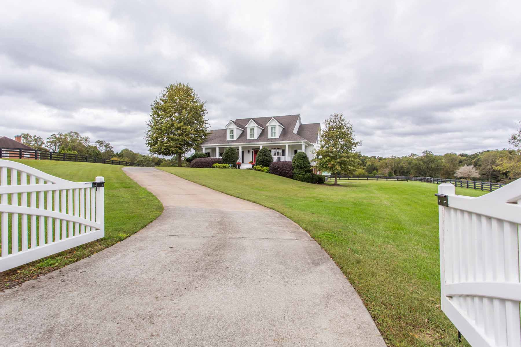 Single Family Home for Sale at Four Acres of Stunning Elegance in Equestrian Setting 1153 Hester Dr Cumming, Georgia, 30028 United States