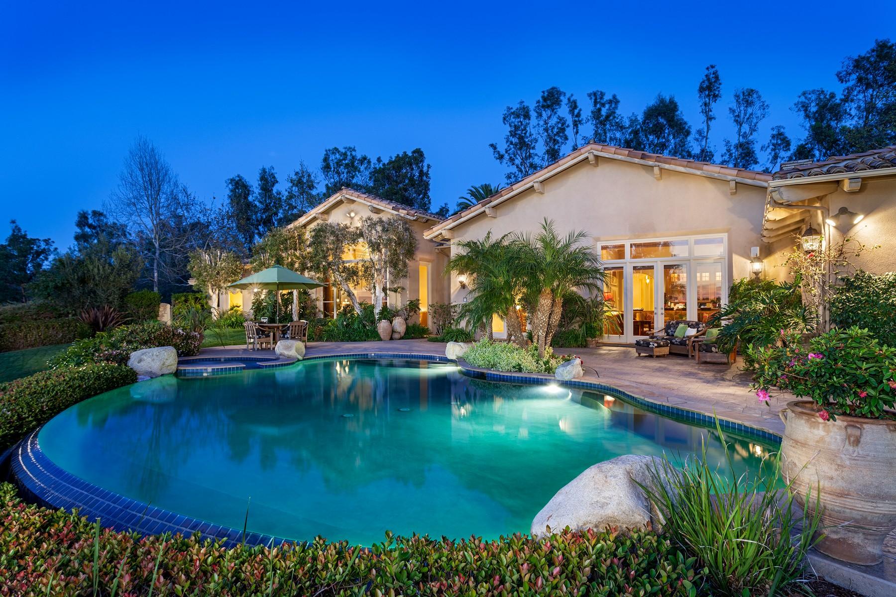 一戸建て のために 売買 アット 16078 Ramblas De Las Flores Rancho Santa Fe, カリフォルニア 92067 アメリカ合衆国