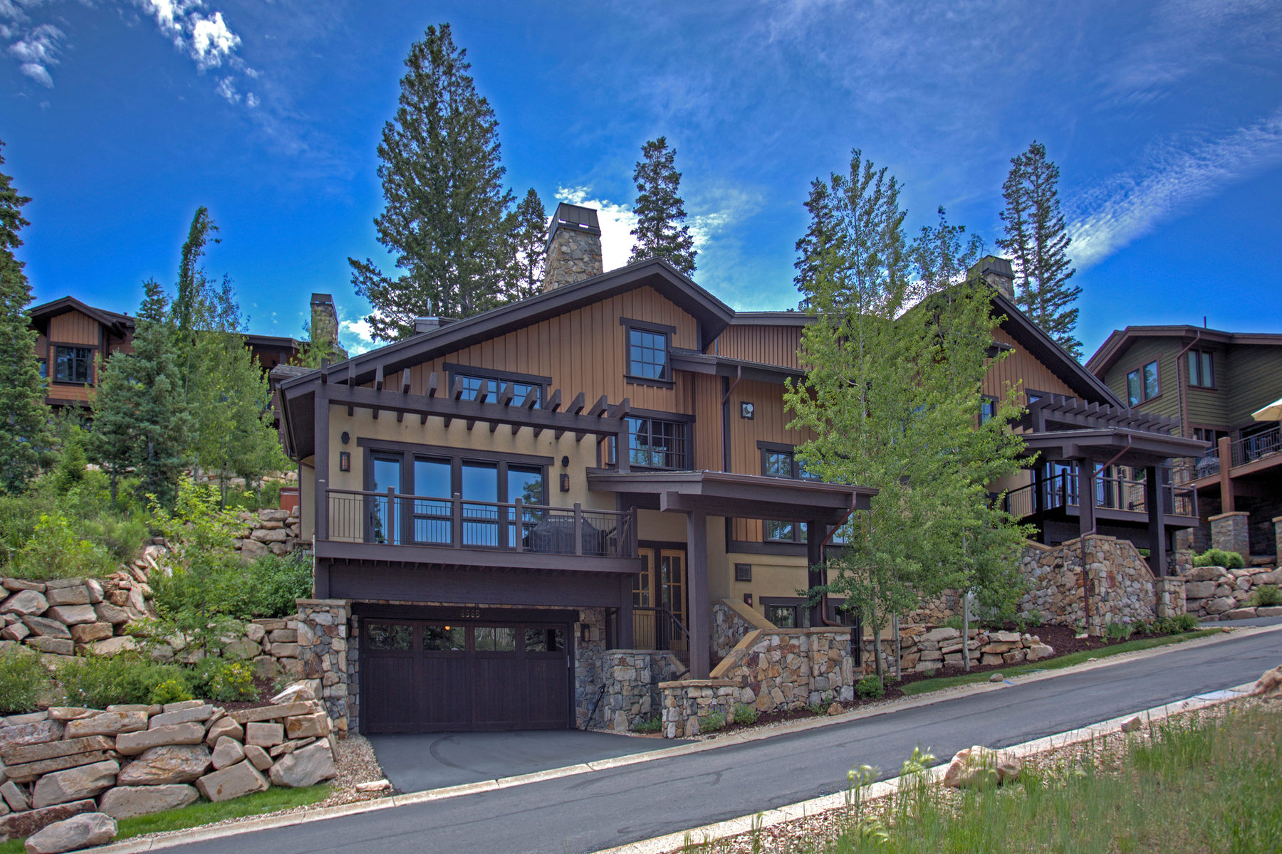 Townhouse for Sale at Outstanding Views and Finishes 6565 Lookout Dr Unit 22 Park City, Utah 84060 United States