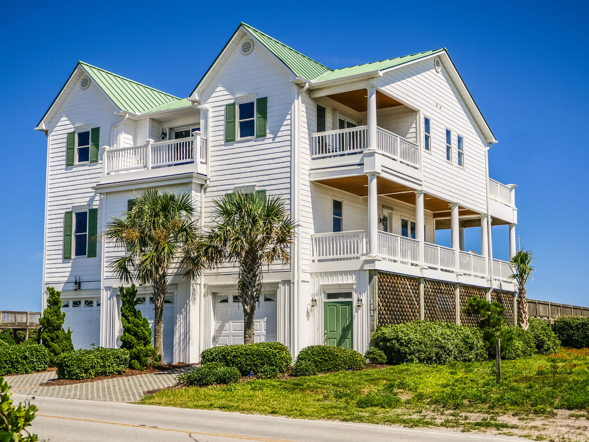 Single Family Home for Sale at Spectacular Oceanfront Home 111 South Anderson Blvd. Topsail Beach, North Carolina, 28445 United States
