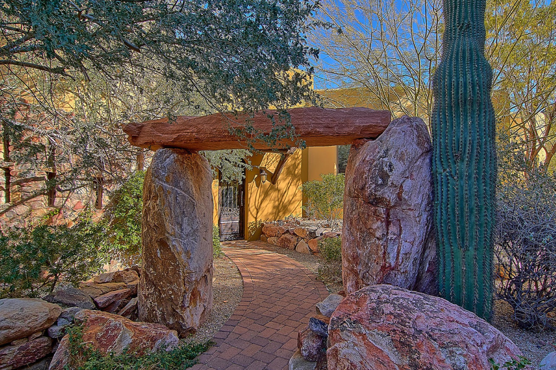 sales property at Troon Highlands on a private, elevated cul-de-sac lot with gorgeous views