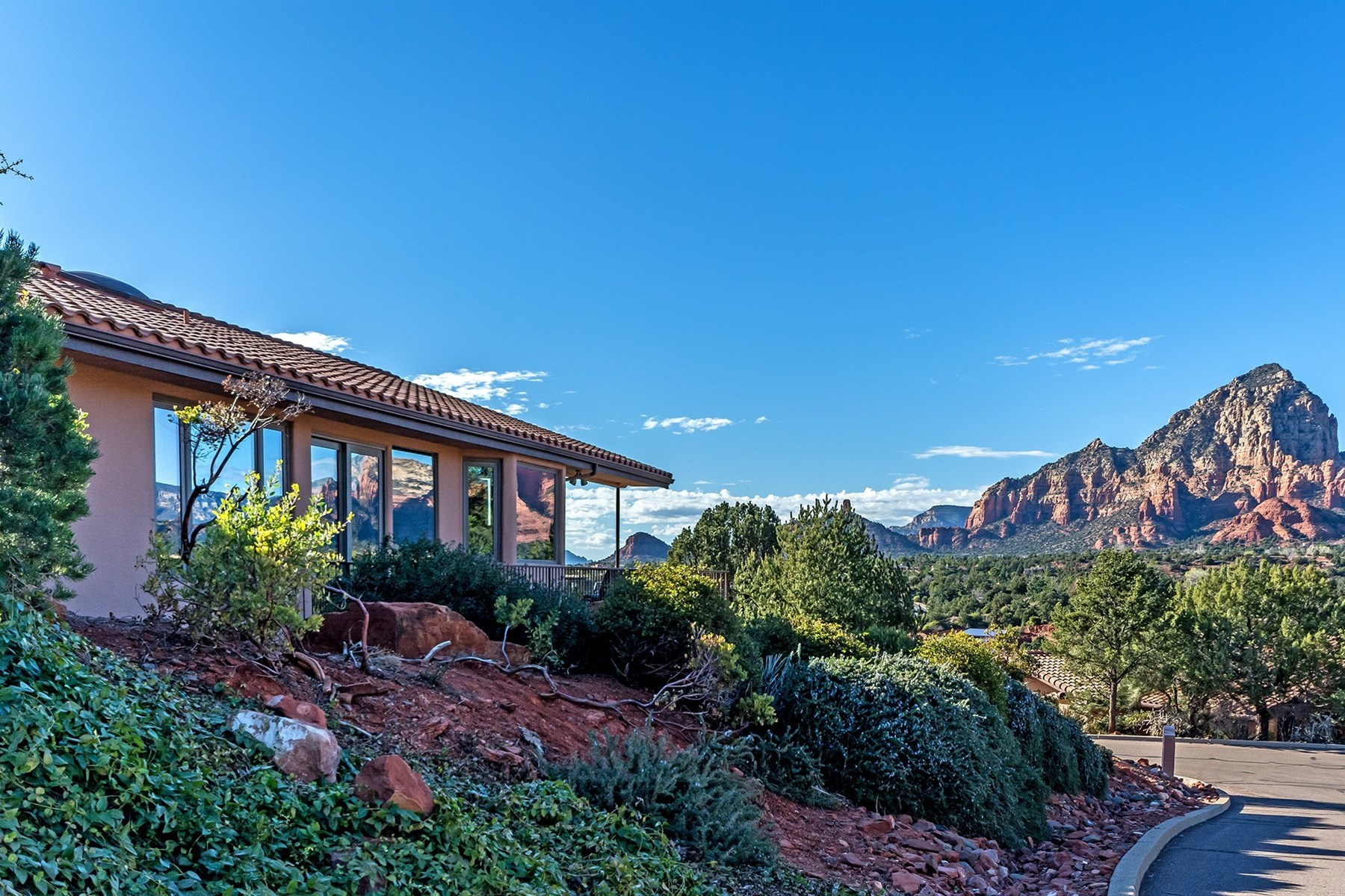 sales property at Charming home perched to provide unparalleled views