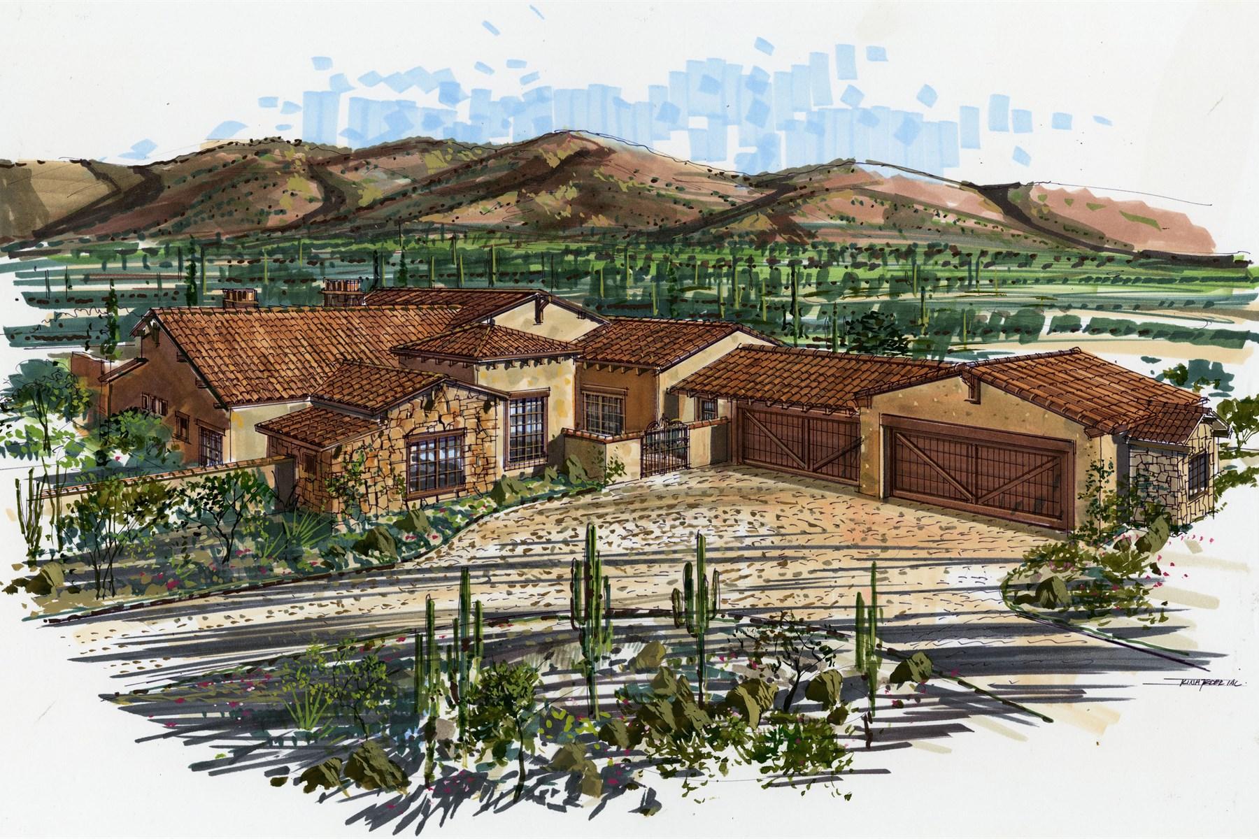 Einfamilienhaus für Verkauf beim Ken Madden of Landmark West Builders 10812 E Laurel Ln Scottsdale, Arizona 85259 Vereinigte Staaten