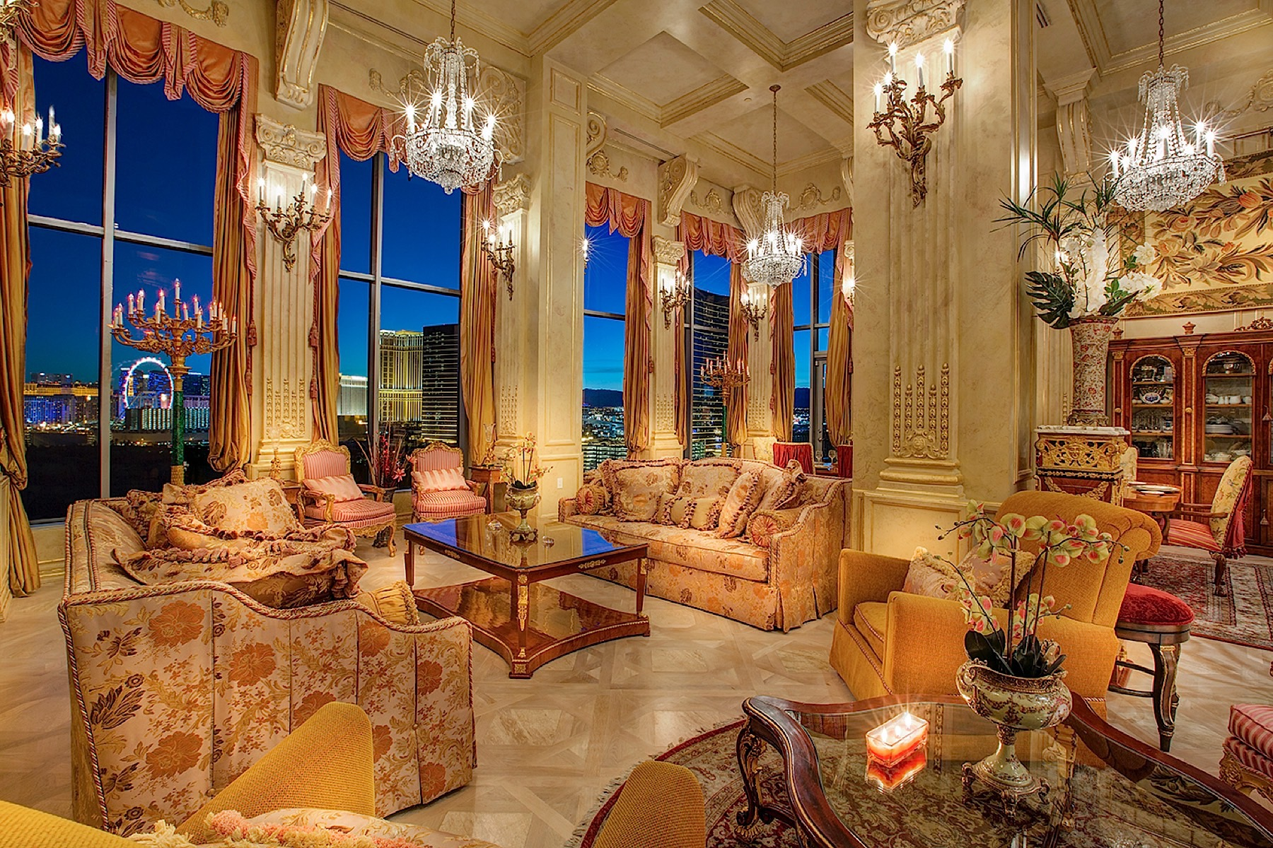 Property For Sale at The Versailles Penthouse in Las Vegas