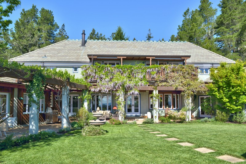 獨棟家庭住宅 為 出售 在 Sunrise Ridge Gardens 12389 Dupont Road Sebastopol, 加利福尼亞州 95472 美國