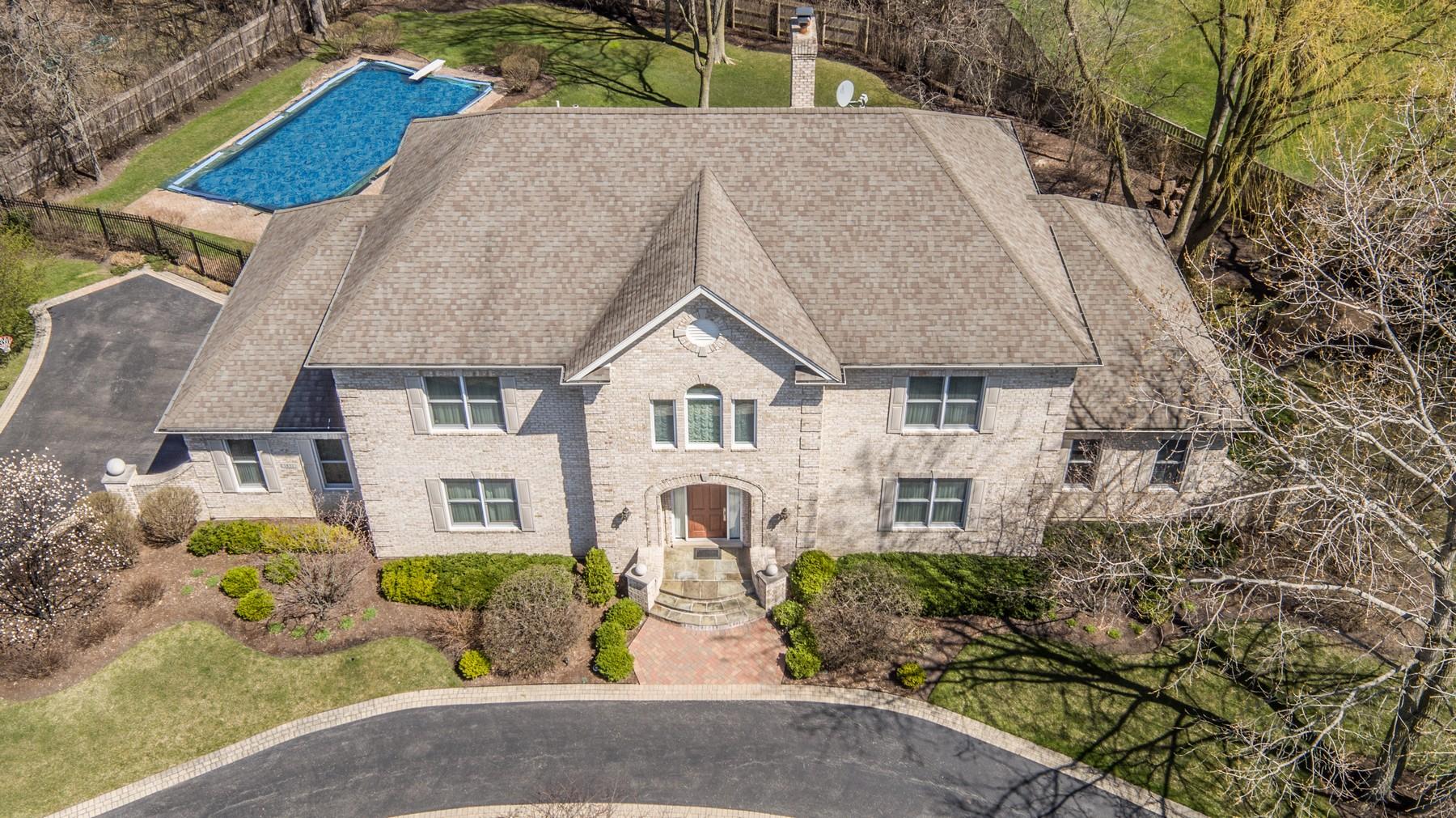 sales property at Custom Designed Lake Forest Home