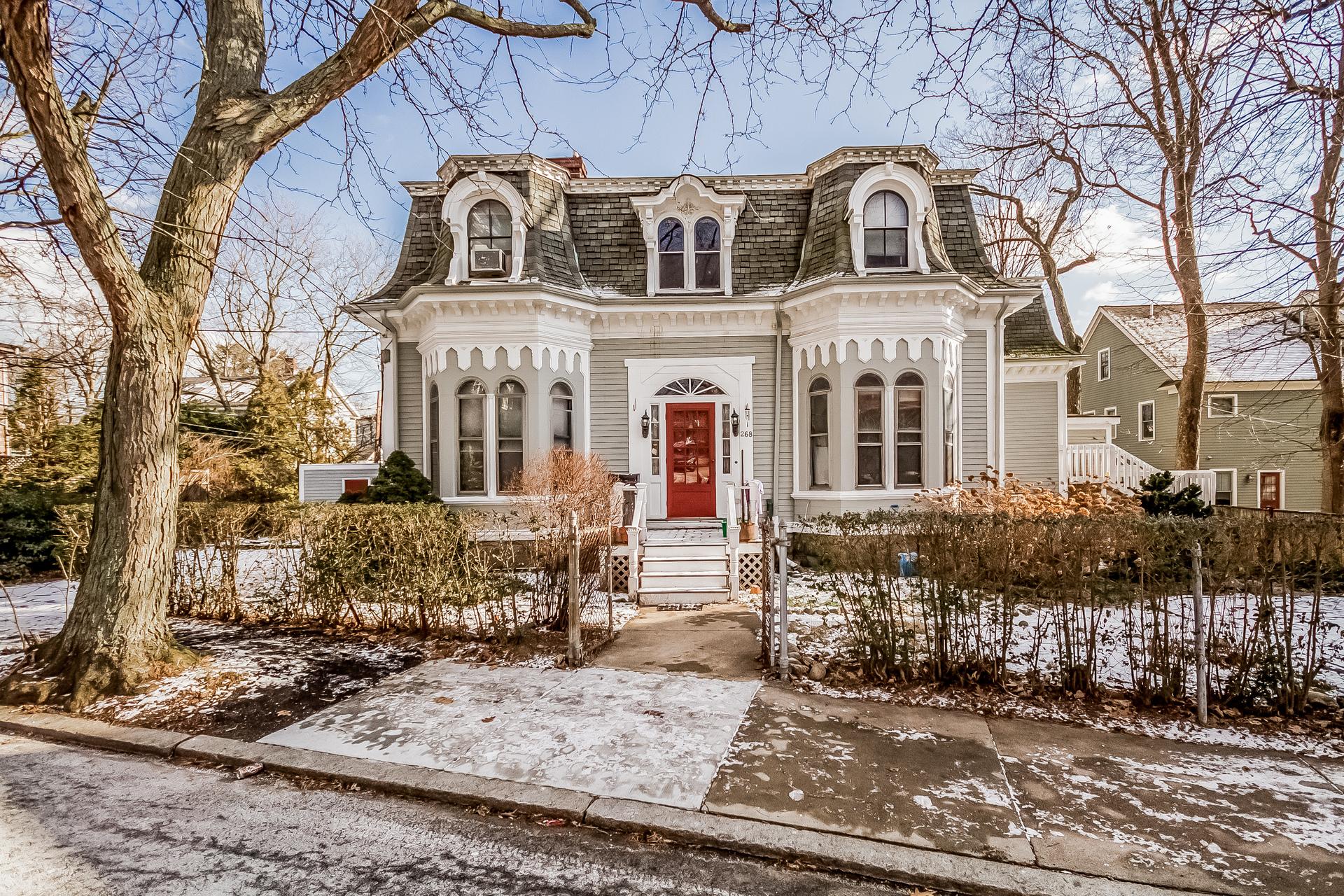 Çok Ailelik Ev için Satış at Elegant French Mansard Victorian 268 Chestnut Avenue Jamaica Plain, Boston, Massachusetts 02130 Amerika Birleşik Devletleri