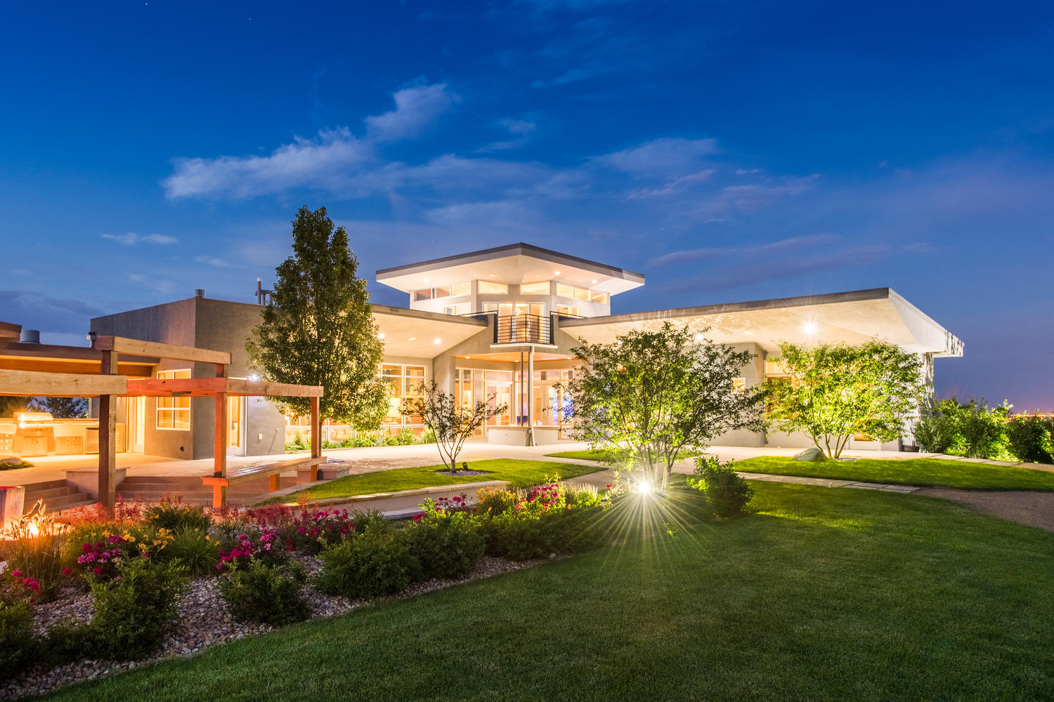sales property at Like nothing you've ever seen, this contemporary masterpiece is one of a kind
