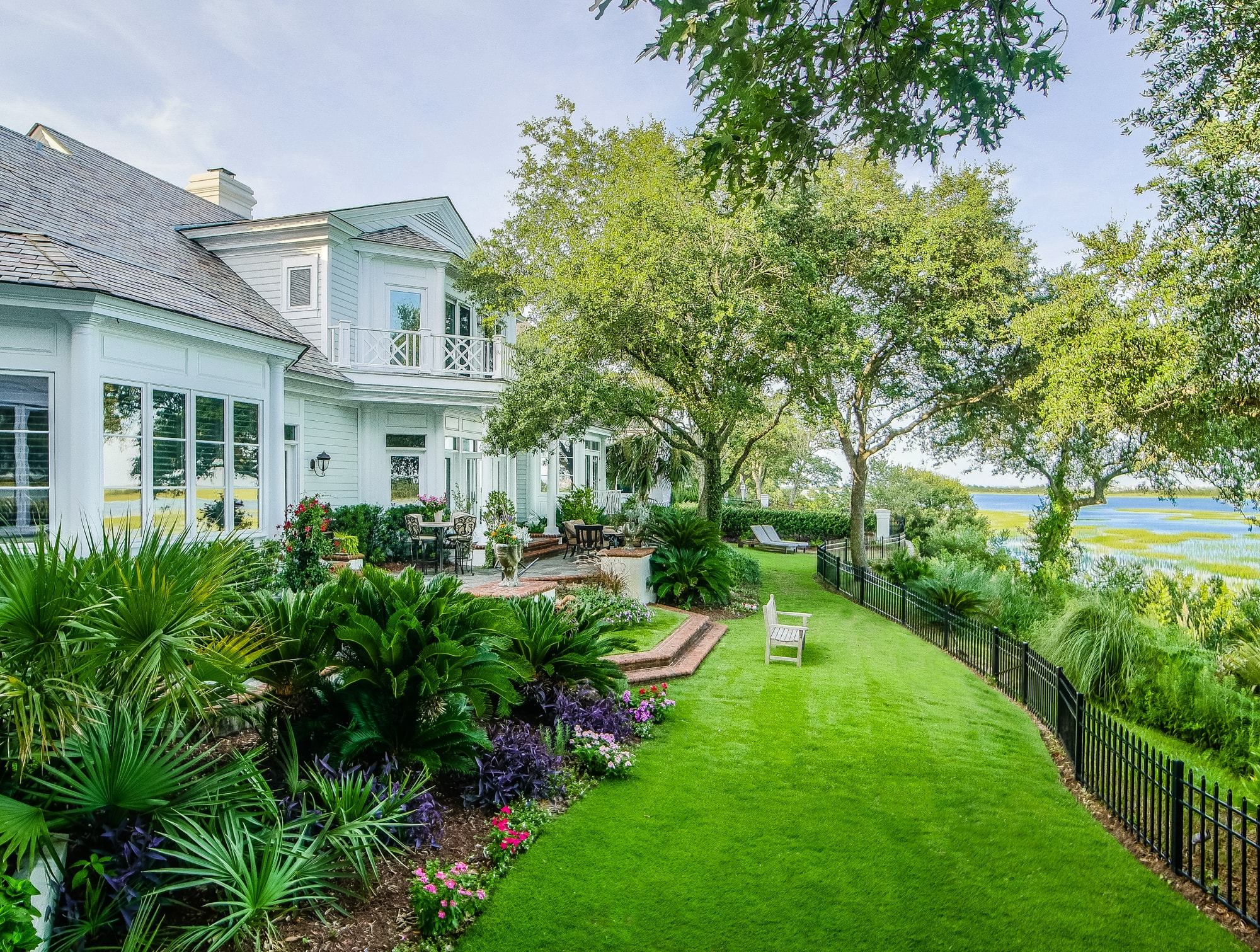 Single Family Home for Sale at Elegant Island Style on the Water 1063 Ocean Ridge Drive Landfall, Wilmington, North Carolina, 28405 United States
