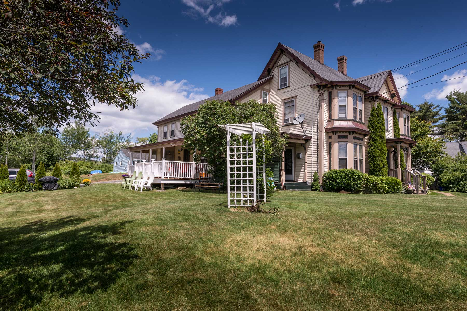 Single Family Home for Sale at Two Family Residence near York Beaches 444 Ridge Road York, Maine, 03909 United States