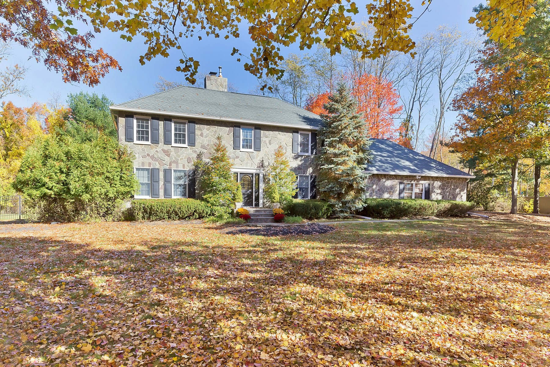 Single Family Home for Sale at Stately Traditional Colonial 7 Farmgate Drive Colts Neck, New Jersey 07722 United States