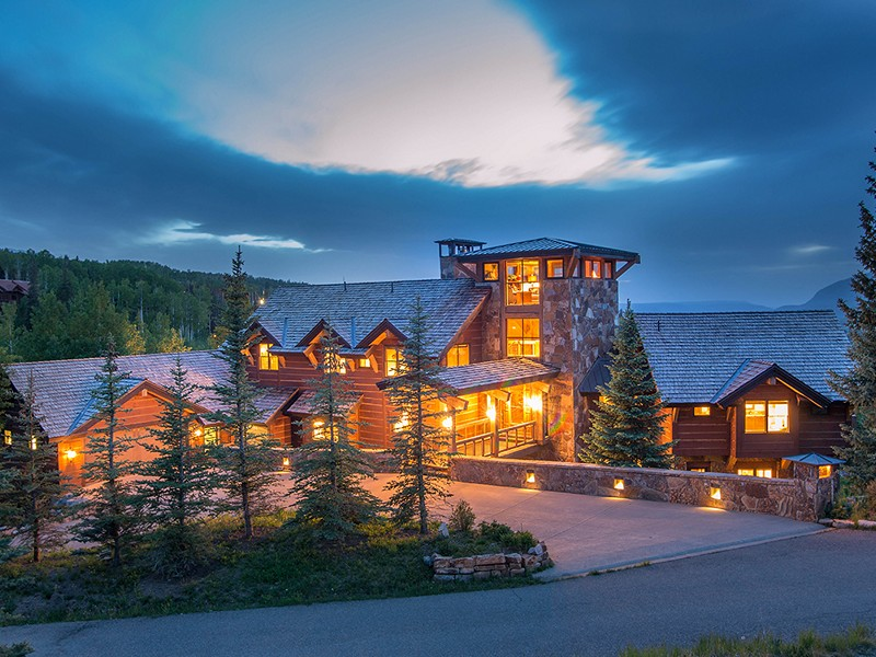 Maison unifamiliale pour l Vente à 124 Yellow Brick Road Telluride, Colorado 81435 États-Unis