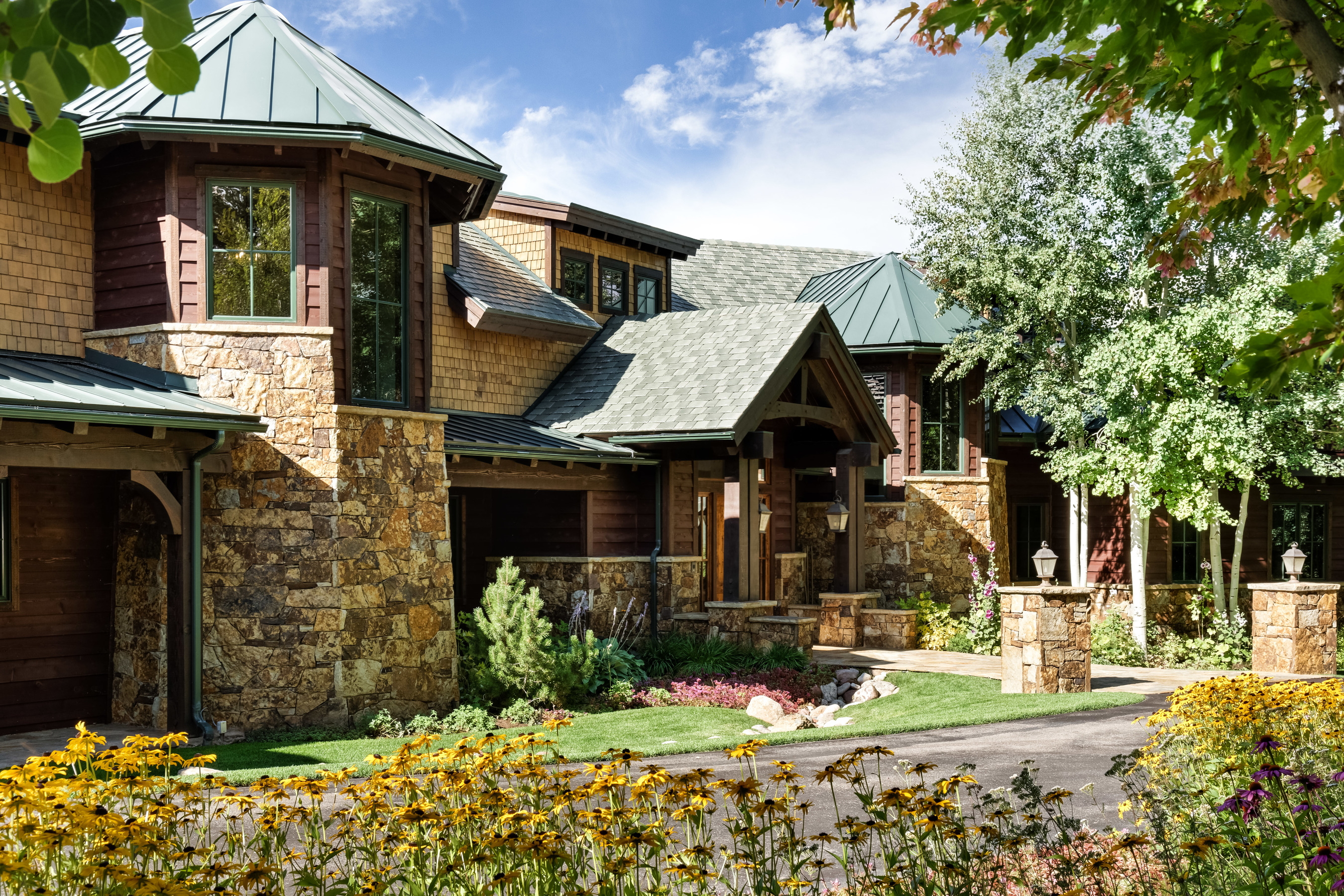 Single Family Home for Active at Magnificent Panorama in McLain Flats 2016 McLain Flats Road Aspen, Colorado 81611 United States