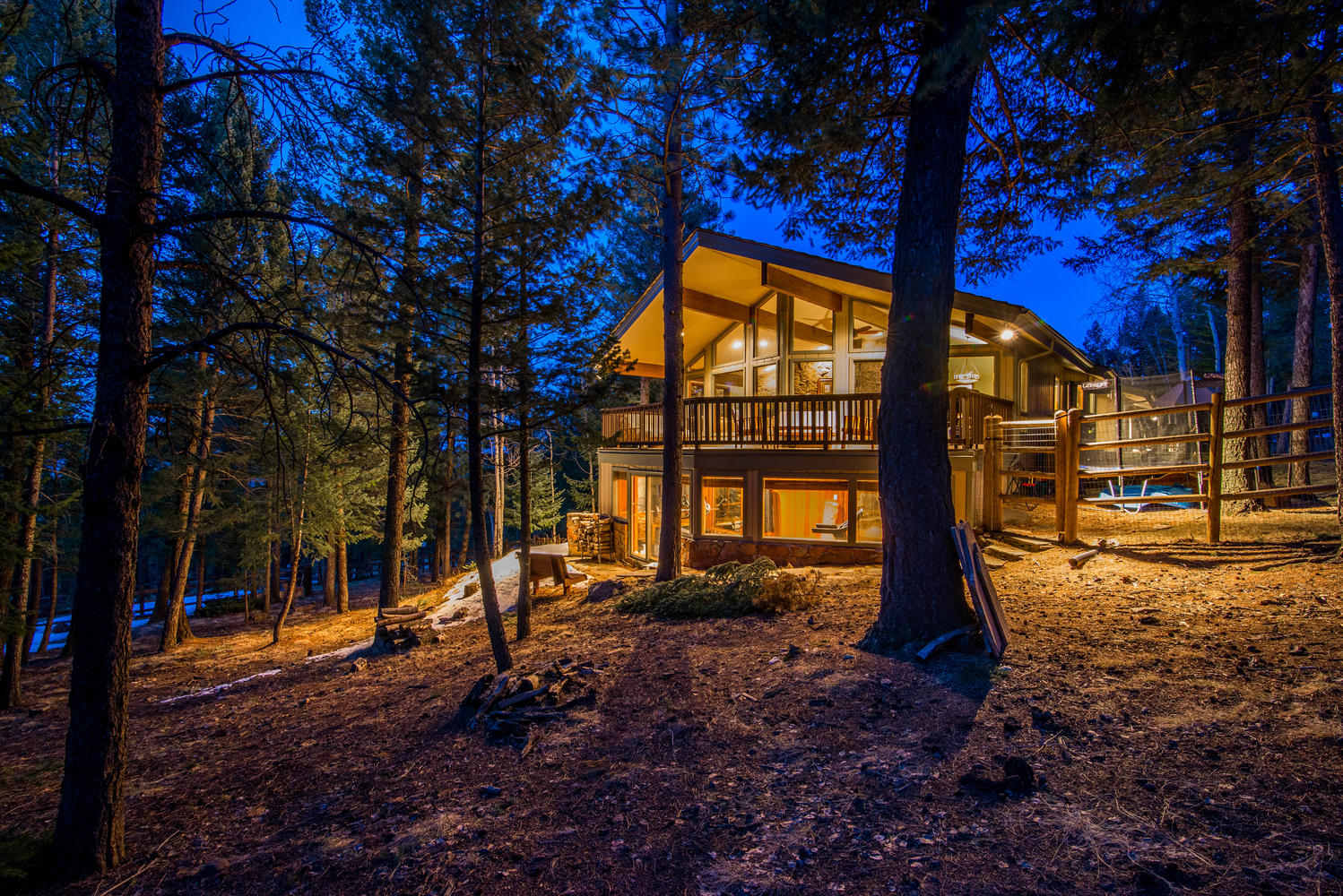 Single Family Home for Sale at Stately Home with Park-Like Setting 33550 Woodland Drive Evergreen, Colorado, 80439 United States