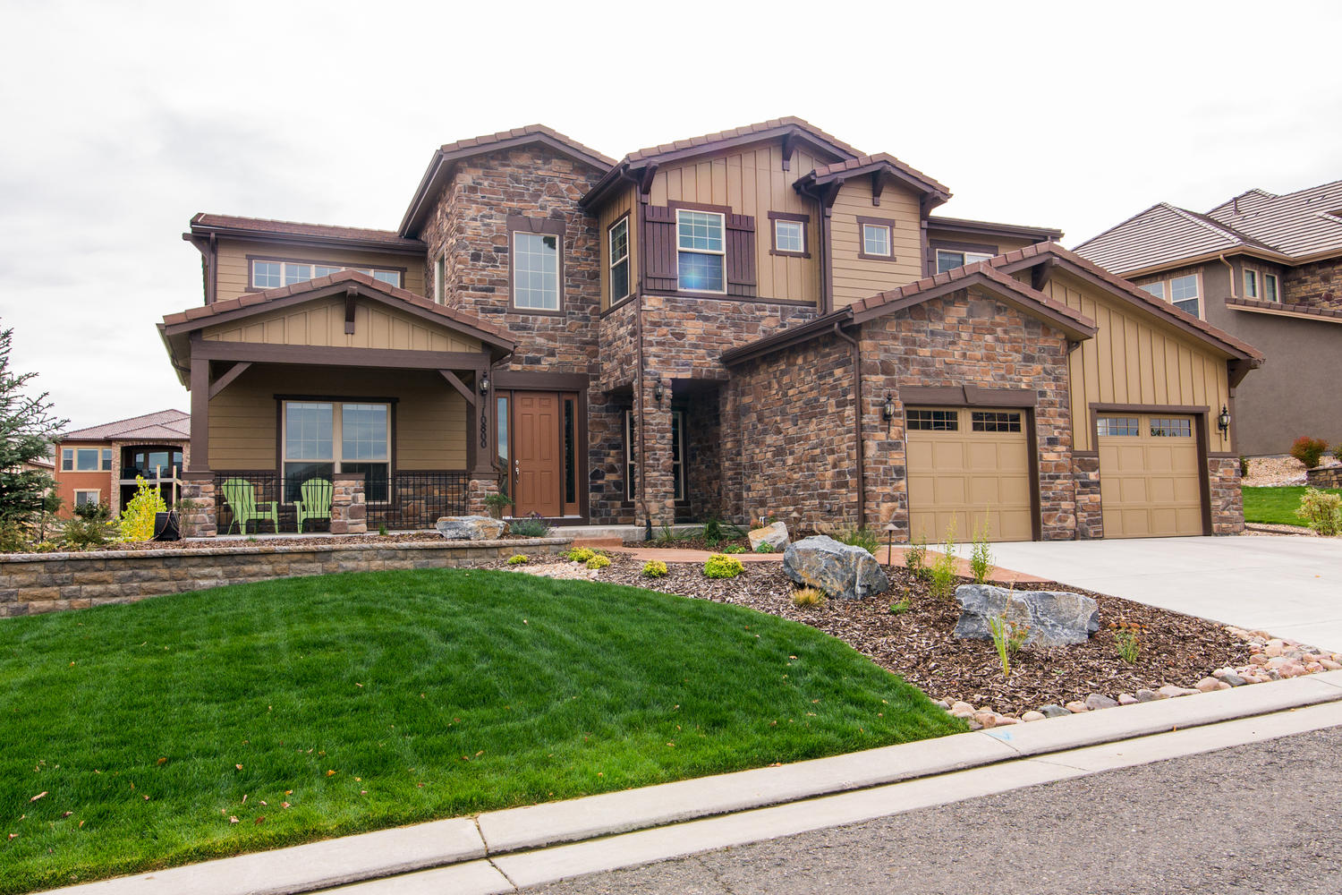 Single Family Home for Active at Beautiful Bella built by the Toll Brothers in 2013 10800 Sundial Rim Rd Highlands Ranch, Colorado 80126 United States