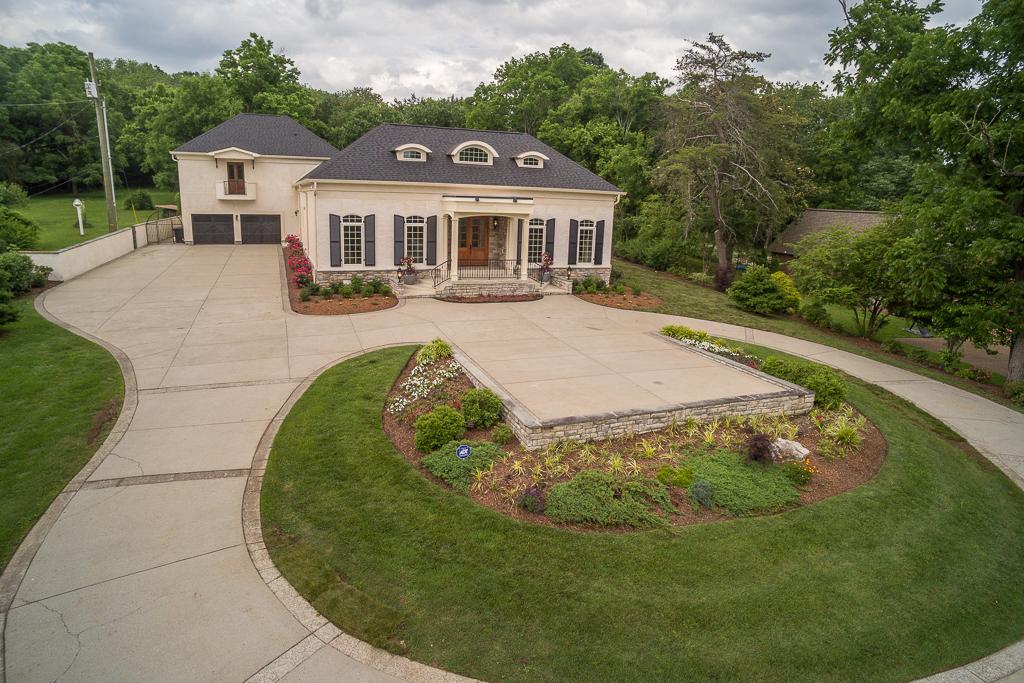 Maison unifamiliale pour l Vente à New Luxury Home in Oak Hill 789 Elysian Fields Road Nashville, Tennessee 37204 États-Unis
