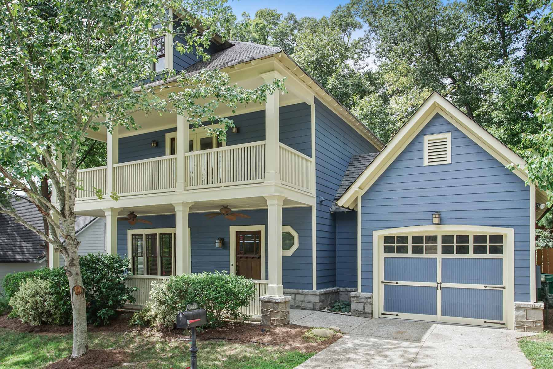 獨棟家庭住宅 為 出售 在 Gorgeous Craftsman in East Atlanta 1422 Lakeview East Drive Atlanta, 喬治亞州, 30316 美國