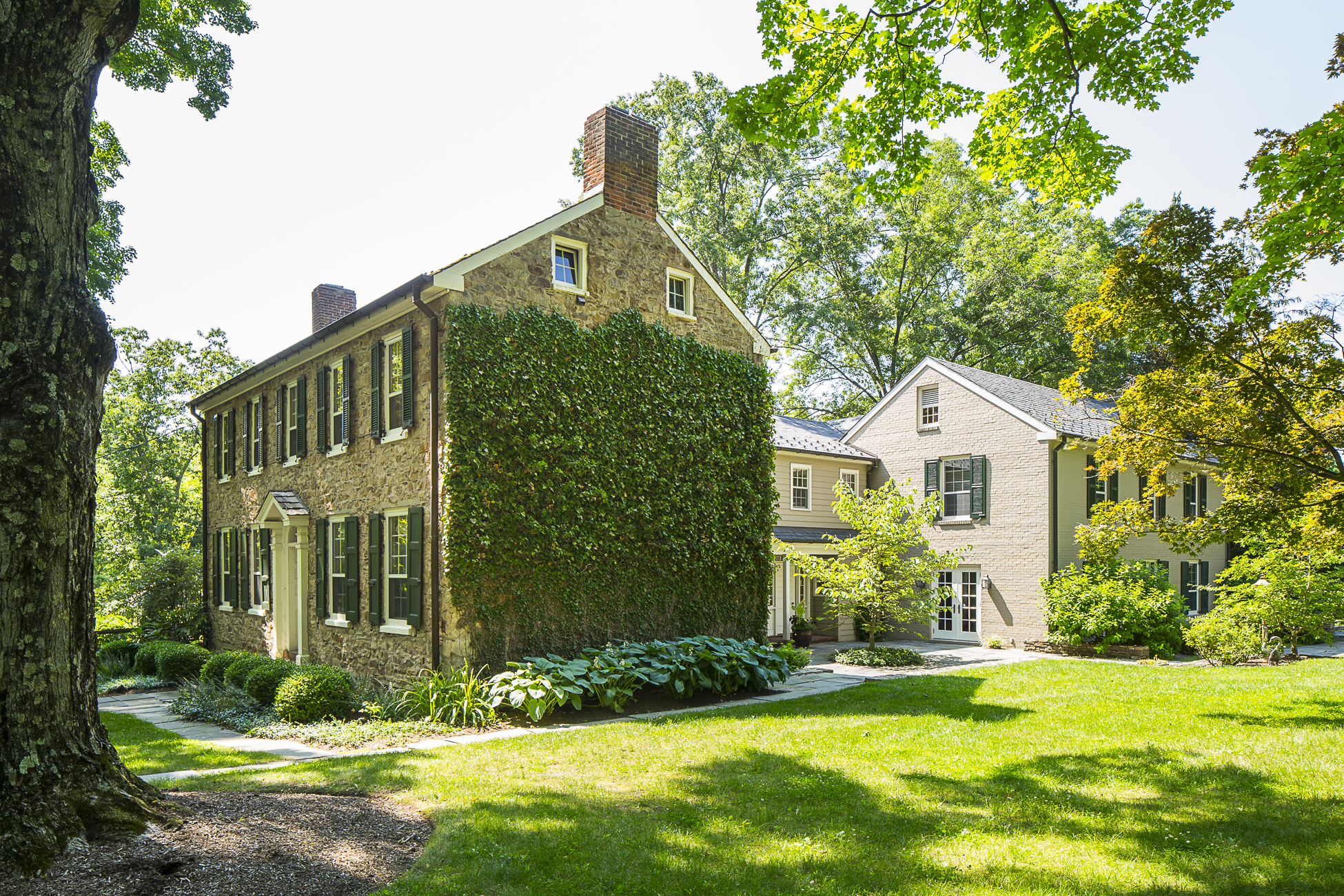 sales property at Circa 1760 Farmhouse is a 21st Century Beauty - Hopewell Township