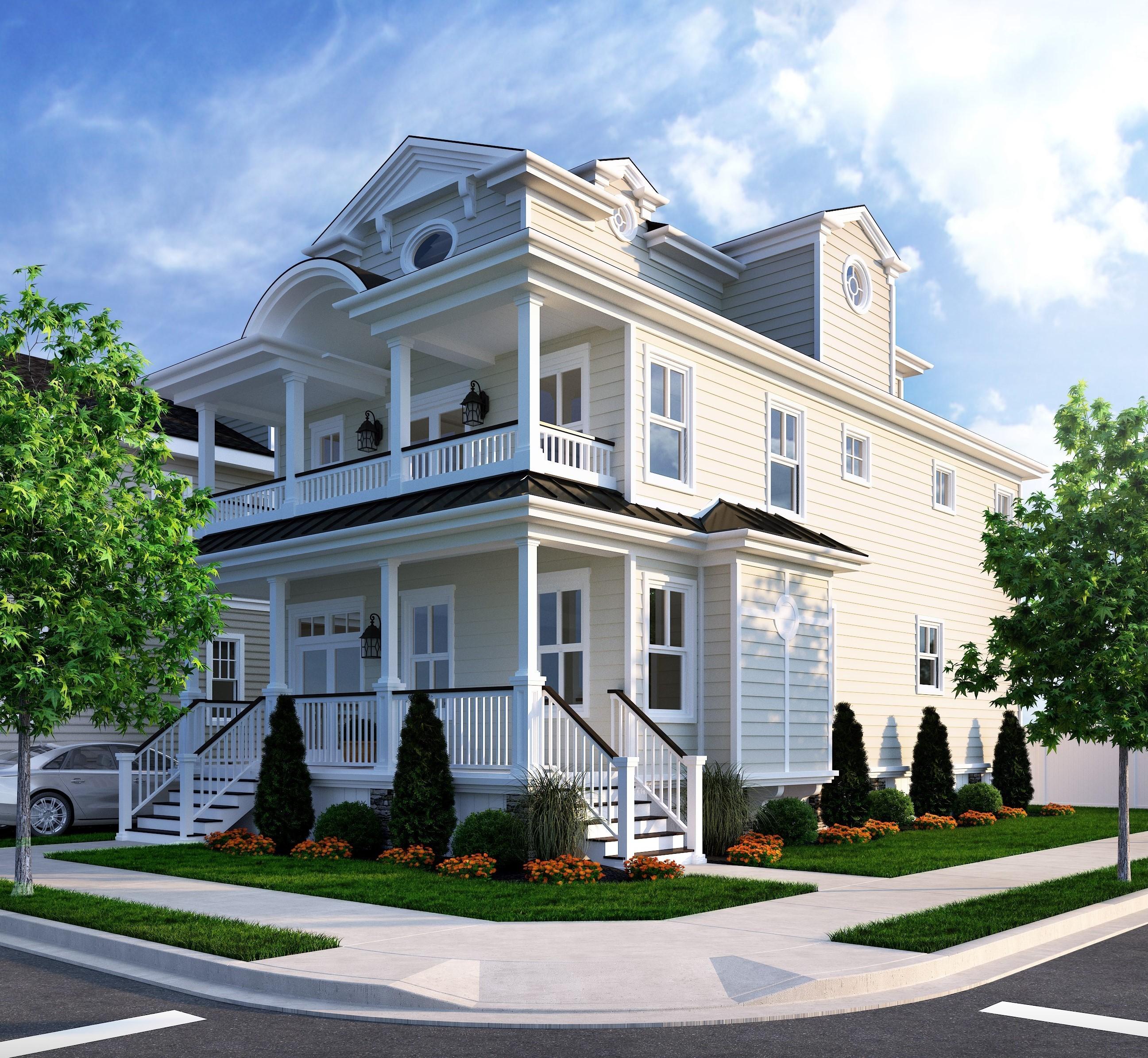 Single Family Home for Sale at 7600 Ventnor Avenue 2 A S Brunswick Ave 7600 Ventnor Margate, New Jersey, 08402 United States