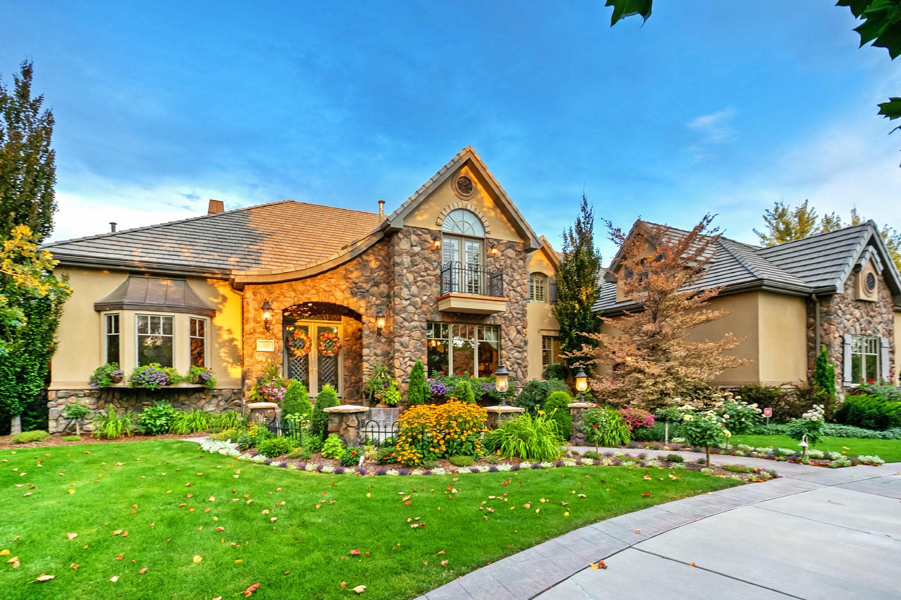 独户住宅 为 销售 在 Quintessential Country Estate 11447 S Polo Club Ct 南约旦, 犹他州, 84095 美国