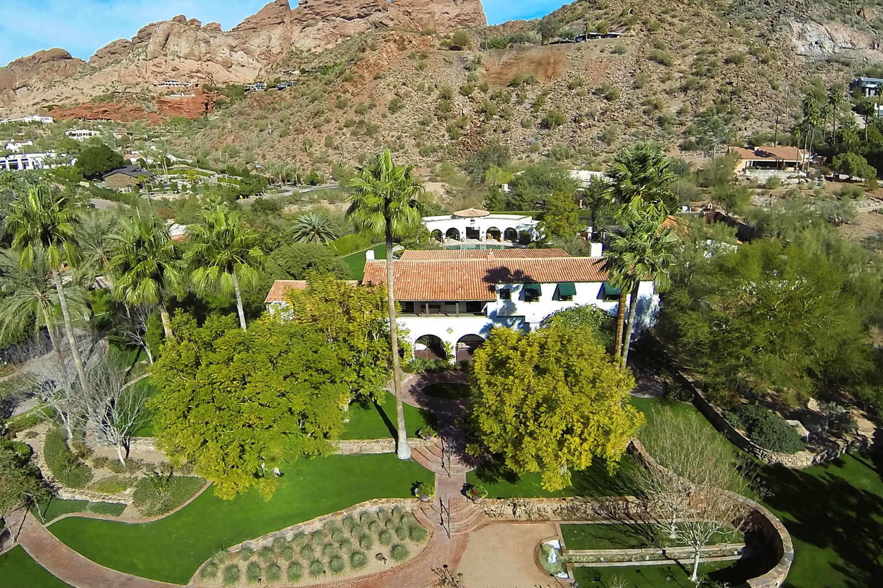 Single Family Home for Sale at Treasured Estate With Unique Finishes From The Finest Local & National Artisans 5015 N Arcadia Drive Phoenix, Arizona, 85018 United States