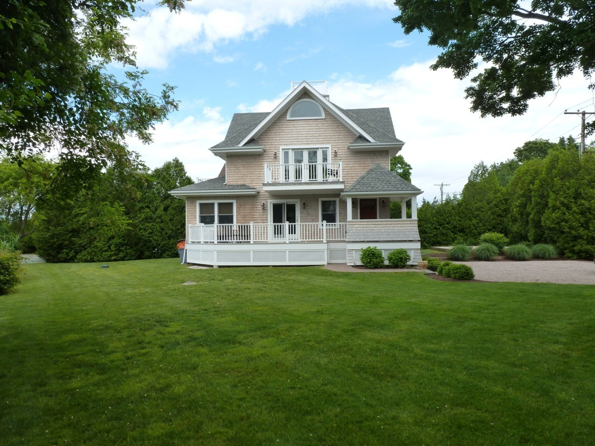 Property For Sale at New Waterfront Cottage in Watch Hill