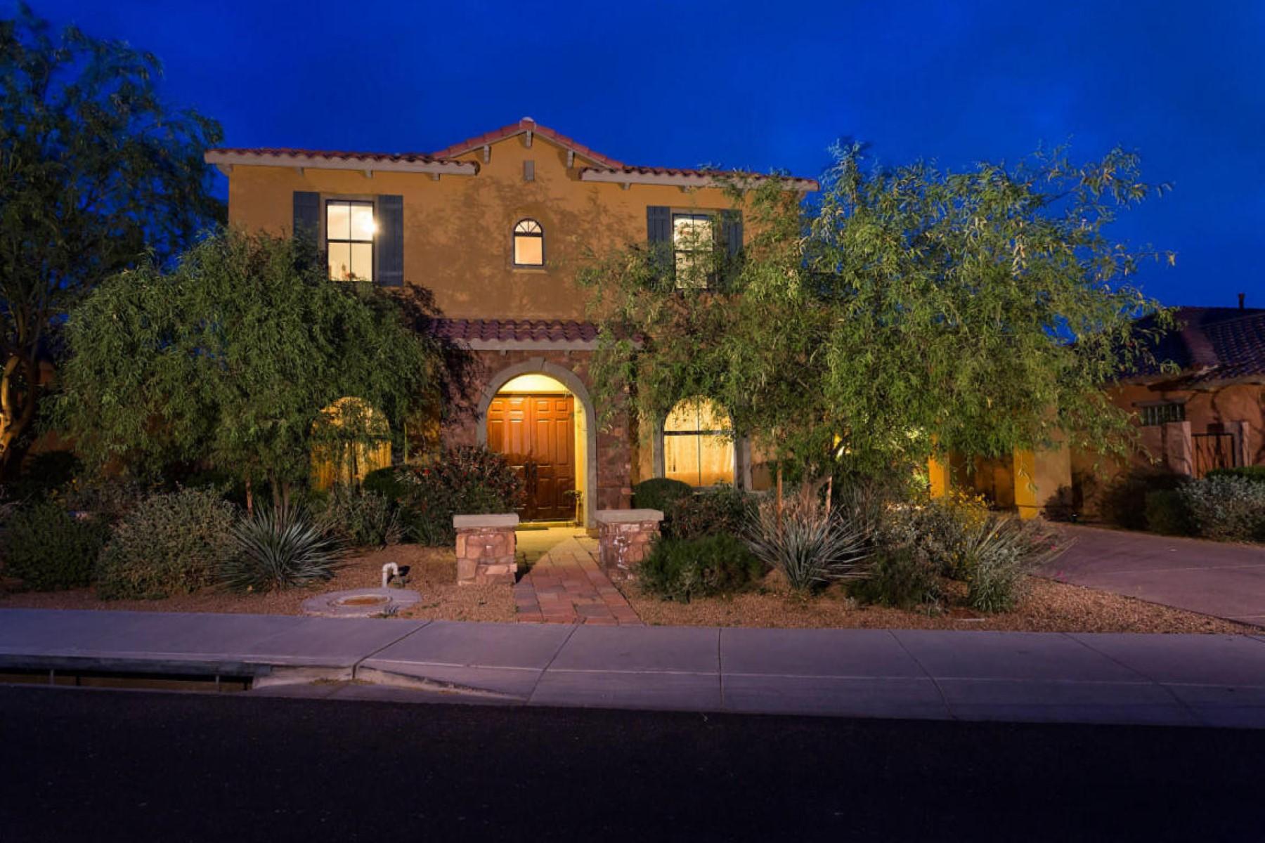 Частный односемейный дом для того Продажа на Stunning and Sought After Torre Model 9867 E Desert Jewel Dr Scottsdale, Аризона, 85255 Соединенные Штаты