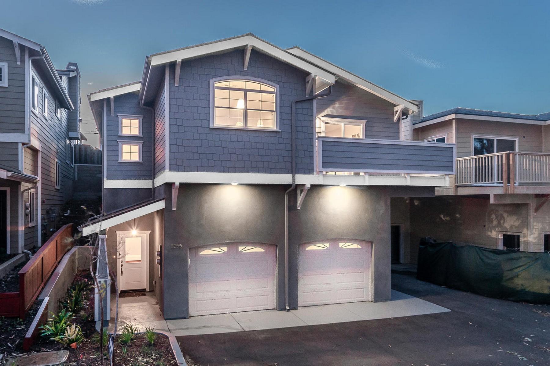 Maison unifamiliale pour l Vente à Brand New Home Near Beach 1255 Main Street Morro Bay, Californie 93442 États-Unis