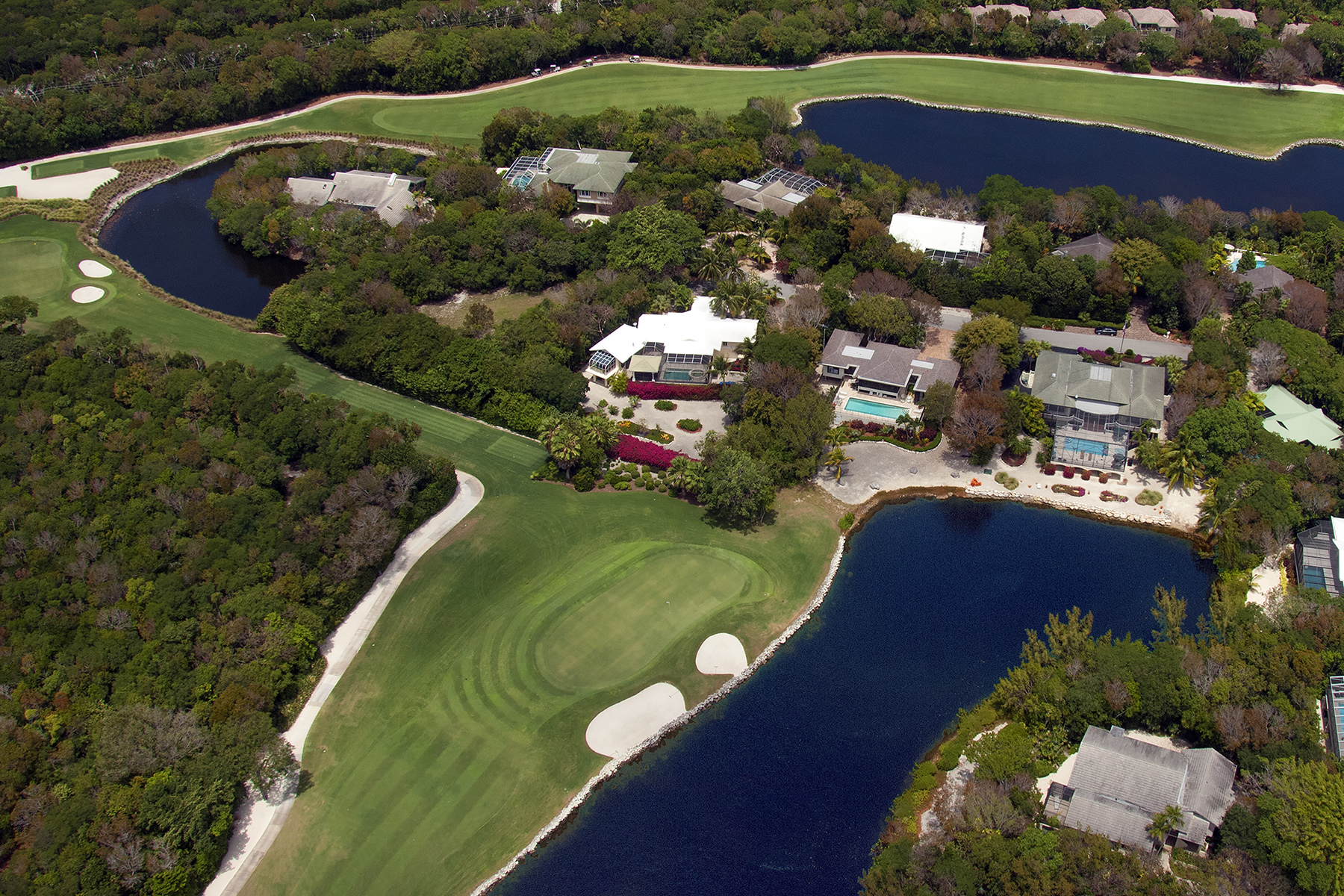 sales property at Custom Golf Course Home at Ocean Reef