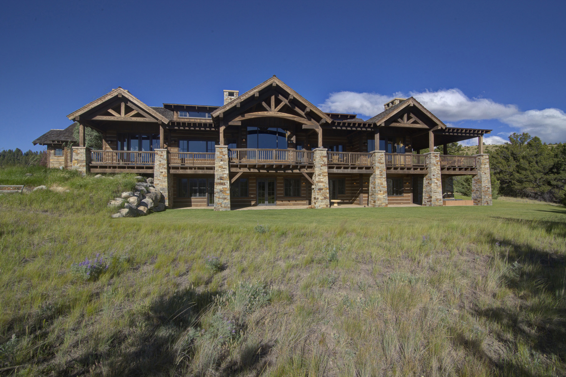 Single Family Home for Sale at 590 Dry Gulch Way , Deer Lodge, MT 59722 590 Dry Gulch Way Rock Creek Cattle Company, Deer Lodge, Montana, 59722 United States