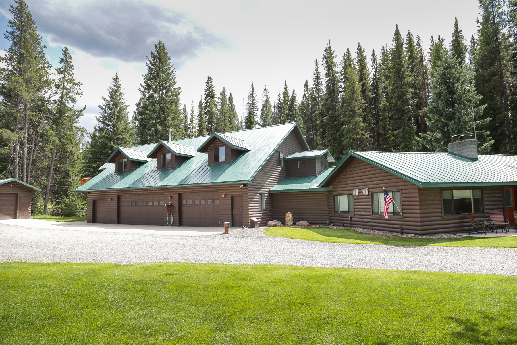 Single Family Home for Sale at 5730 MT Highway 279 Lincoln, Montana 59639 United States