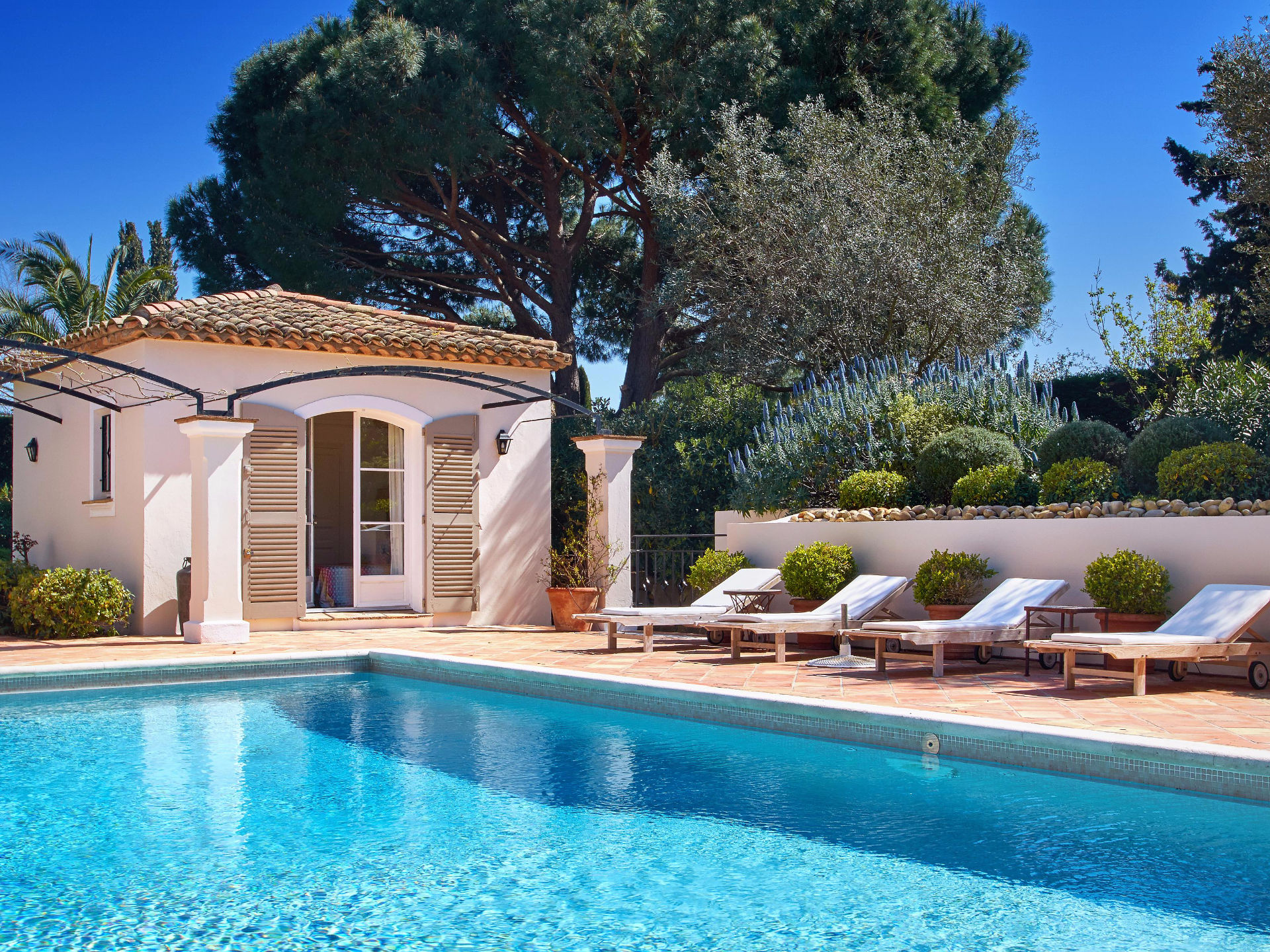 Single Family Home for Sale at Mediterranean style villa in the private domain 'les Parcs de Saint-Tropez' Saint Tropez Saint Tropez, Provence-Alpes-Cote D'Azur, 83990 France