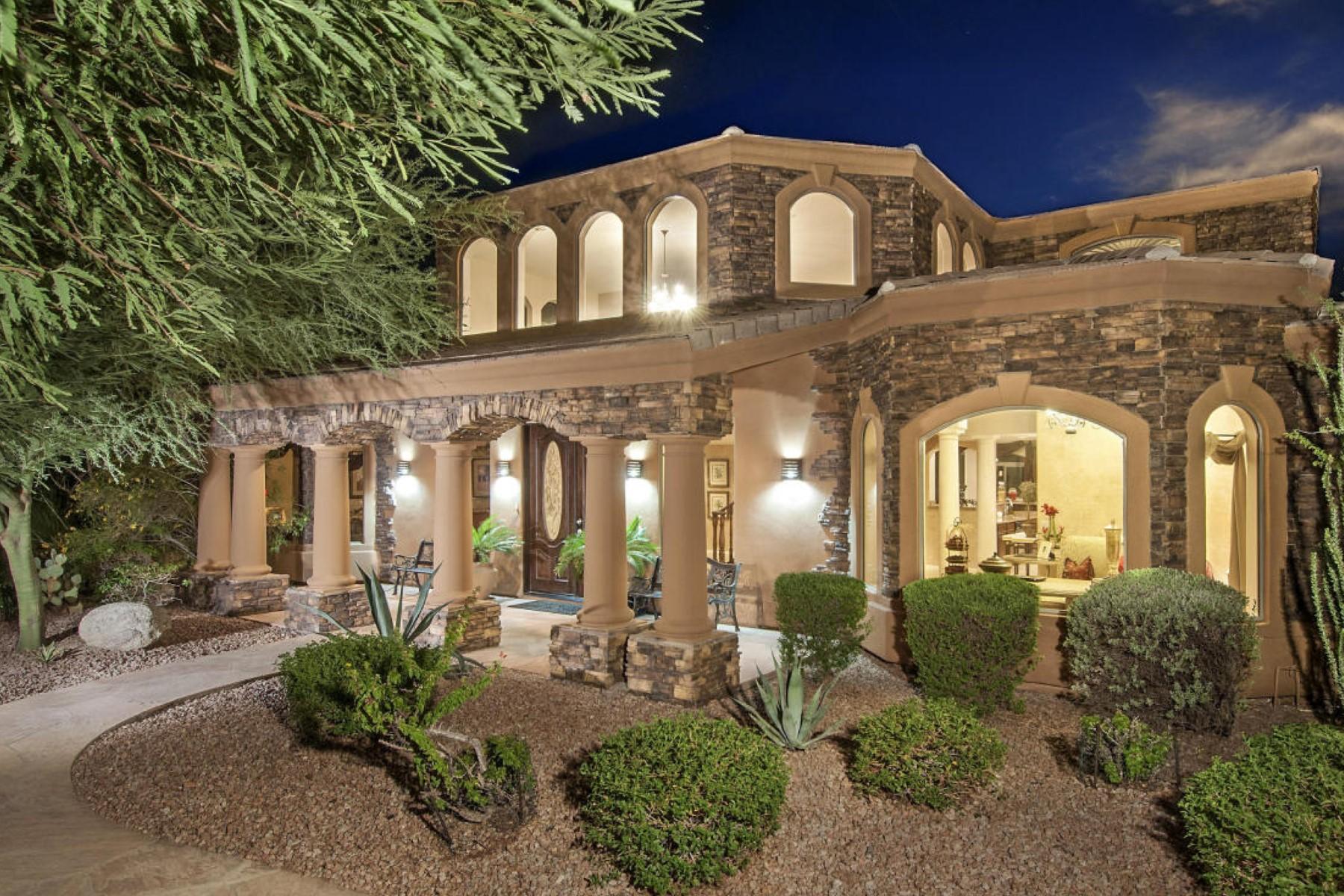 Casa para uma família para Venda às An Extraordinary Custom Home In Guard Gated Ancala Country Club 11605 E Bloomfield Drive Scottsdale, Arizona 85259 Estados Unidos