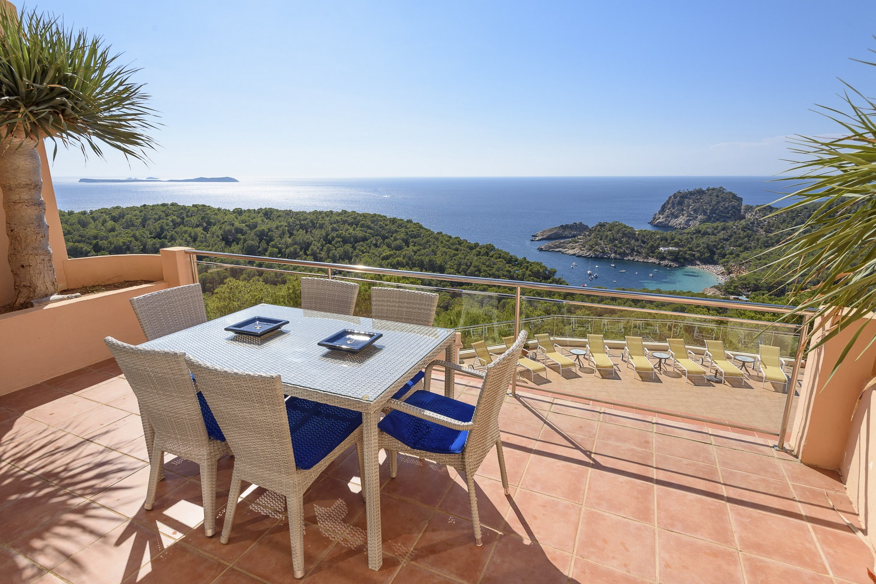 Single Family Home for Sale at Villa With Stunning Views Toward Cala Salada San Antonio, Ibiza, 07820 Spain
