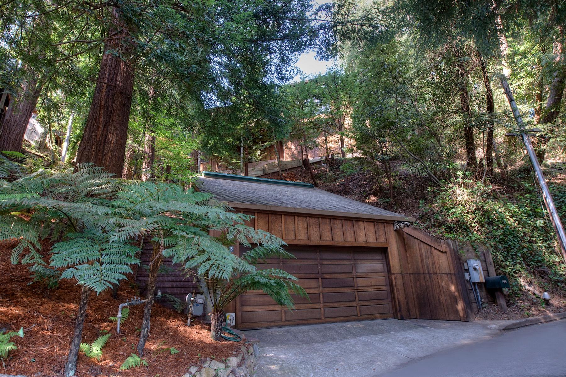 Einfamilienhaus für Verkauf beim Architecturally Compelling Family Home 5 Monte Vista Ave Mill Valley, Kalifornien 94941 Vereinigte Staaten