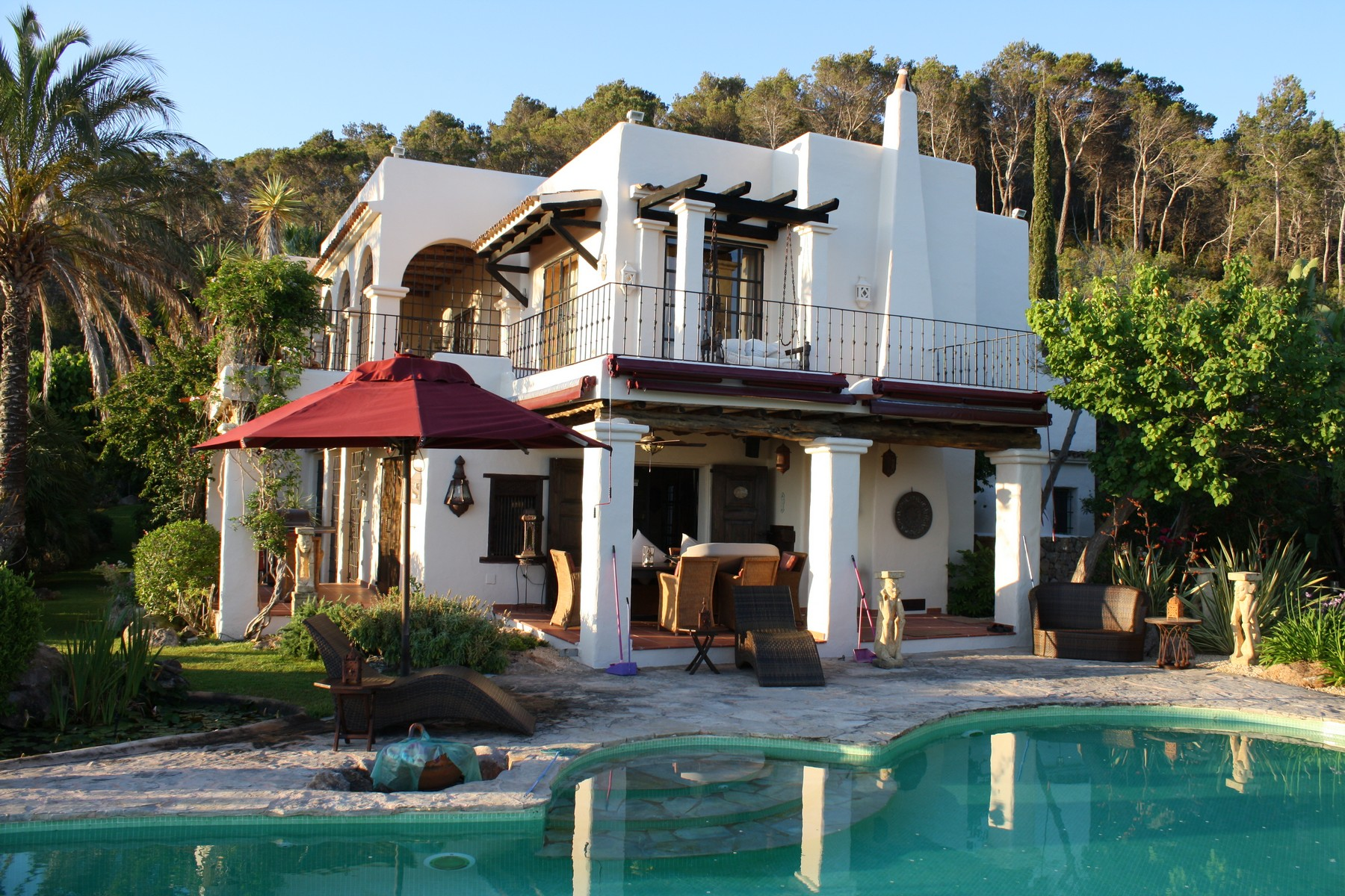 獨棟家庭住宅 為 出售 在 Rustic Villa With Country And Sea views San Carlos Santa Eulalia, 西亞特, 07840 西班牙