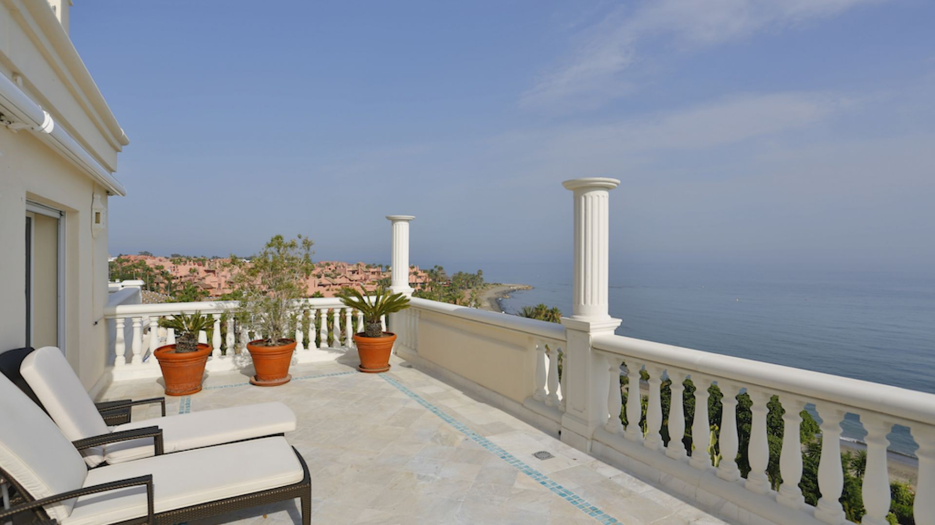 Apartment for Sale at Spectacular front line beach position with panoramic sea views New Golden Mile Estepona, Costa Del Sol 29680 Spain